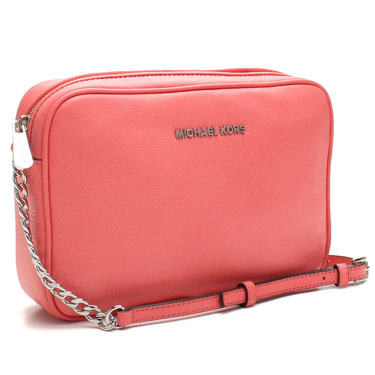 3f0a9bf8f1 Bighit The total brand wholesale  Michael Kors (MICHAEL KORS) BEDFORD  diagonal shoulder bag 32F5SBFC3L CORAL pink( taxfree send by  EMS authentic A brand new ...