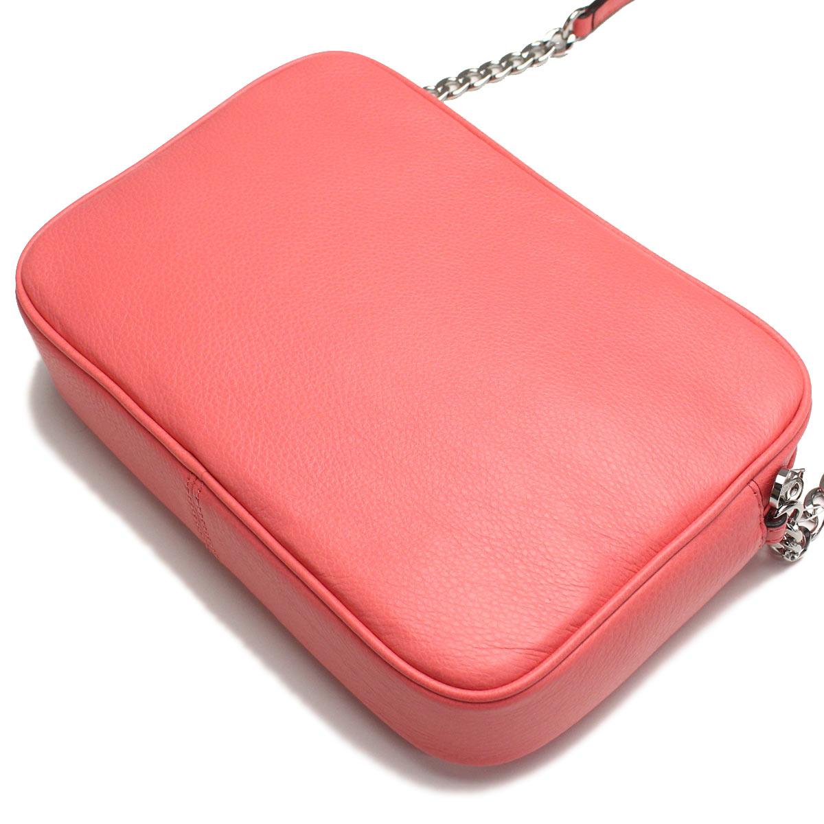 3df6d97f1e19 Michael Kors (MICHAEL KORS) BEDFORD diagonal shoulder bag 32F5SBFC3L CORAL  pink( taxfree send by EMS authentic A brand new item )