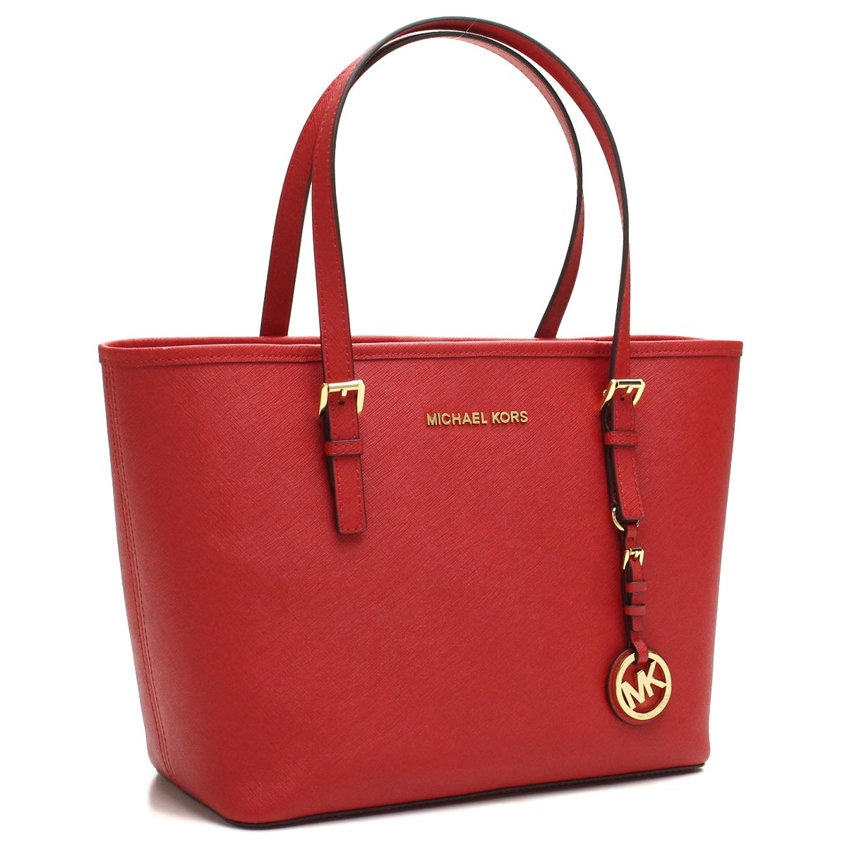Michael Kors (MICHAEL KORS) JET SET tote bag 30H1GTVT1L CHILI red series( taxfree/send by EMS/authentic/A brand new item )