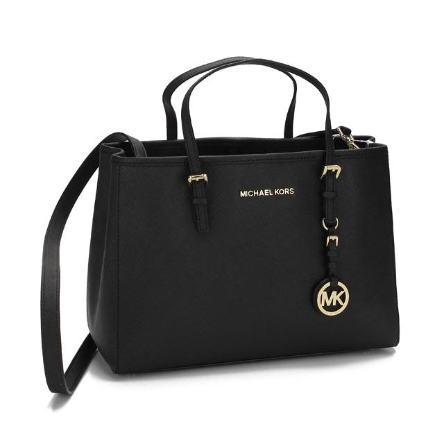 Michael Kors Jet Set Travel Handbag 30h3gtvt8l Black Taxfree Send By Ems Authentic A Brand New Item Rakuten Global Market