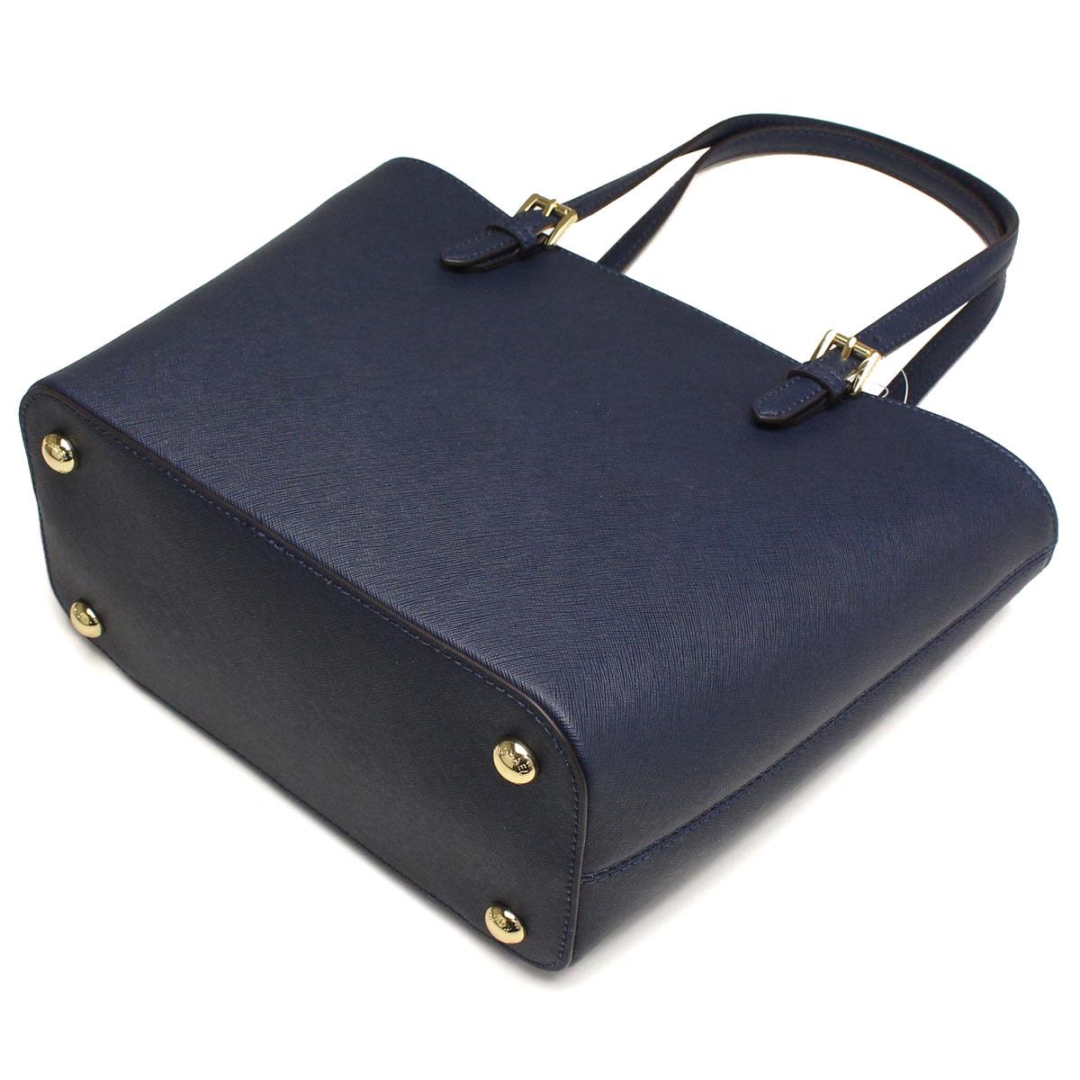 Michael Kors (MICHAEL KORS) JET SET ITEM tote bag 30H4GTTT2L NAVY Navy( taxfree/send by EMS/authentic/A brand new item )