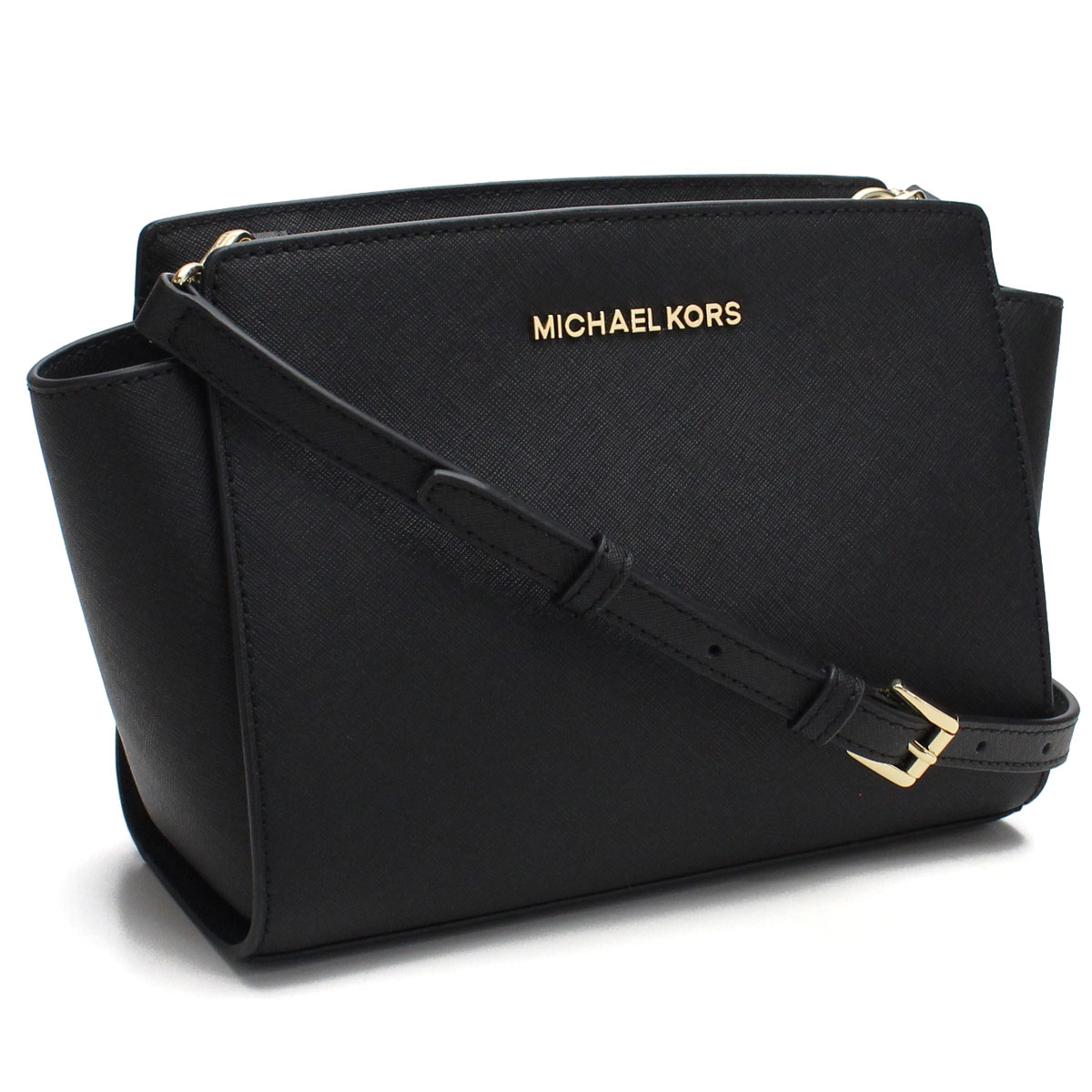 70d086f0a52e )Michael Kors (MICHAEL KORS) SELMA shoulder bag 30T3GLMM2L BLACK black(  taxfree/send by EMS/authentic/A brand new item ) | Rakuten Global Market