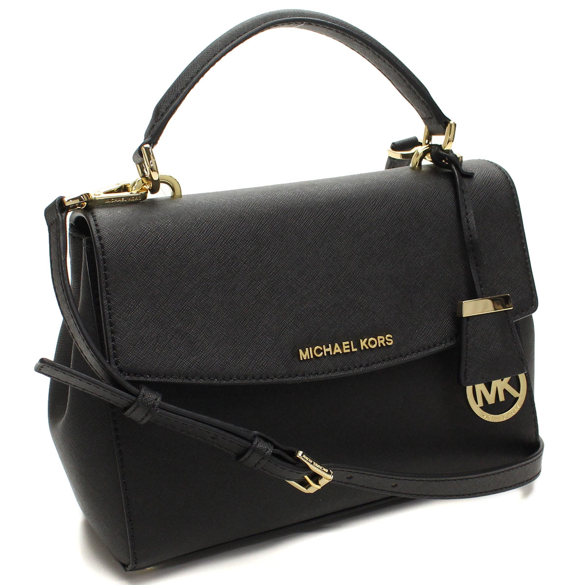 Hit The Total Brand Whole Tax Free Michael Kors Ava Handbag 30t5gavs2l Black Taxfree Send By Ems Authentic A New