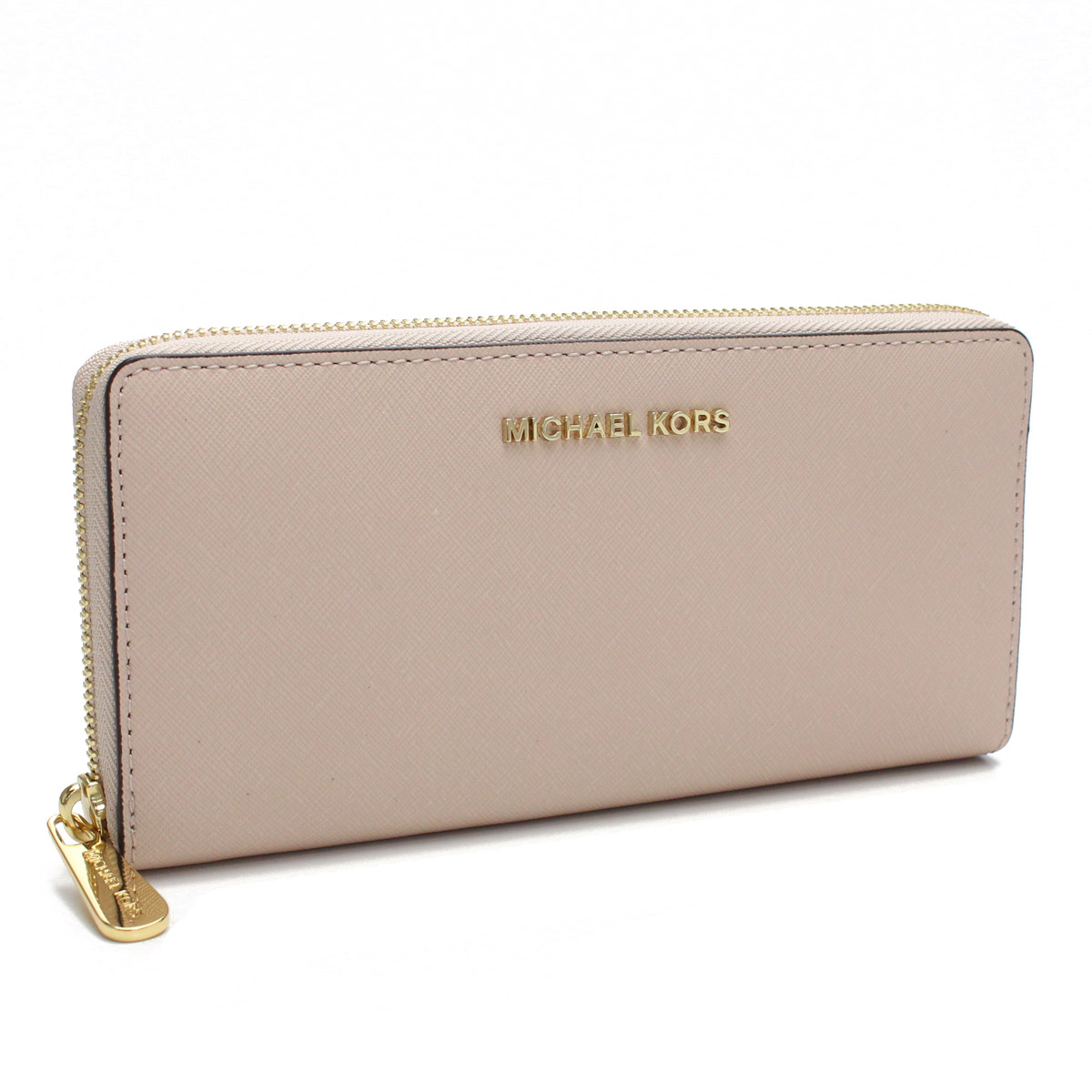 fd93f5f83ccc Bighit The total brand wholesale  Michael Kors (MICHAEL KORS) JET SET TRAVEL  round fastener long wallet 32S3GTVE3L SOFT PINK pink system