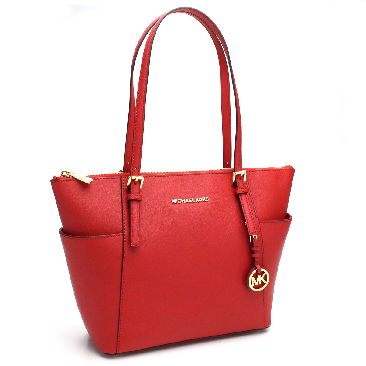 ec040d5ee93aa Bighit The total brand wholesale  Michael Kors (MICHAEL KORS) JET SET tote  bag 30F2GTTT8L BRIGHT RED red system