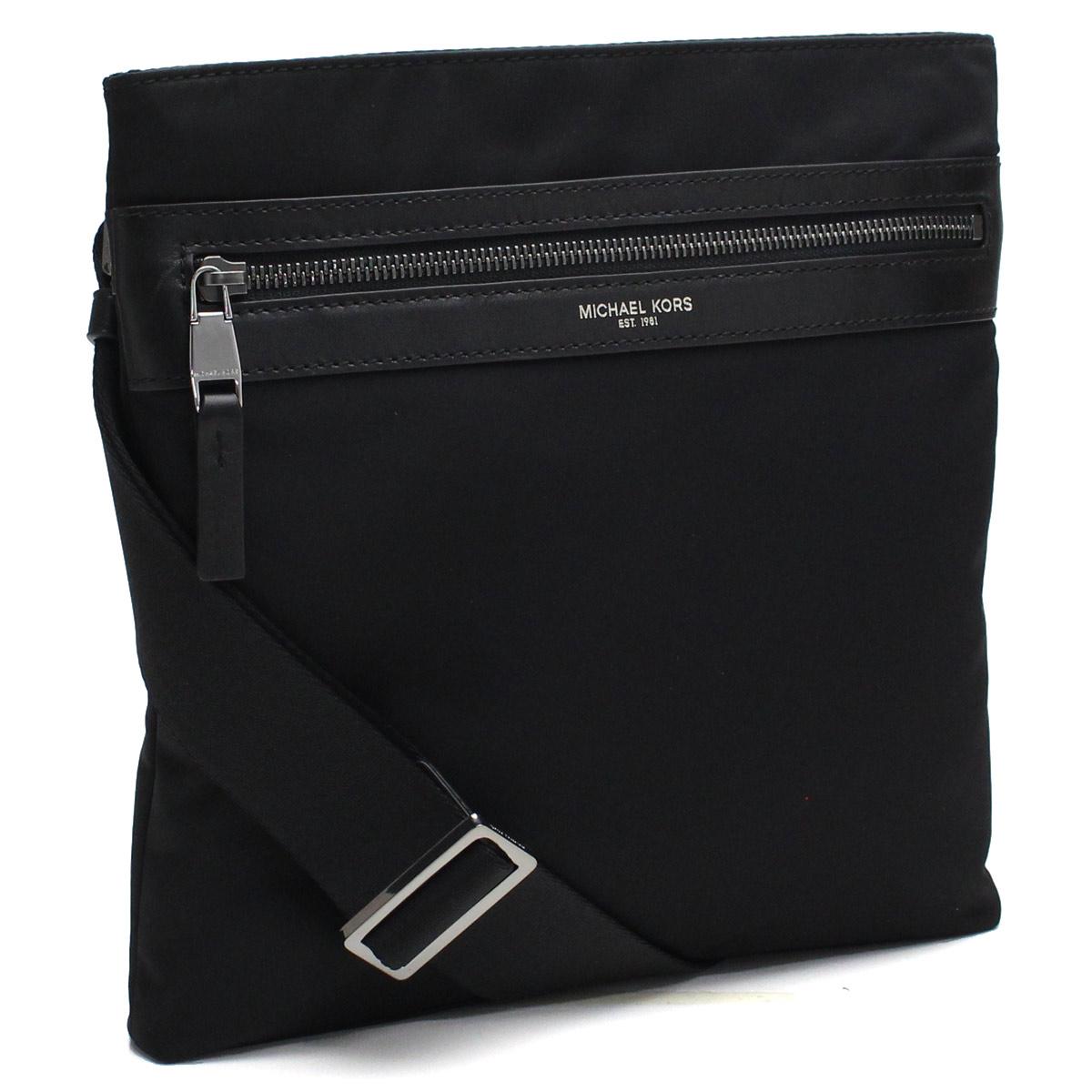 e3fa75b2cd87 Bighit The total brand wholesale  Take Michael Kors MICHAEL KORS KENT Kent  slant  shoulder bag 33F5LKNC1C BLACK black