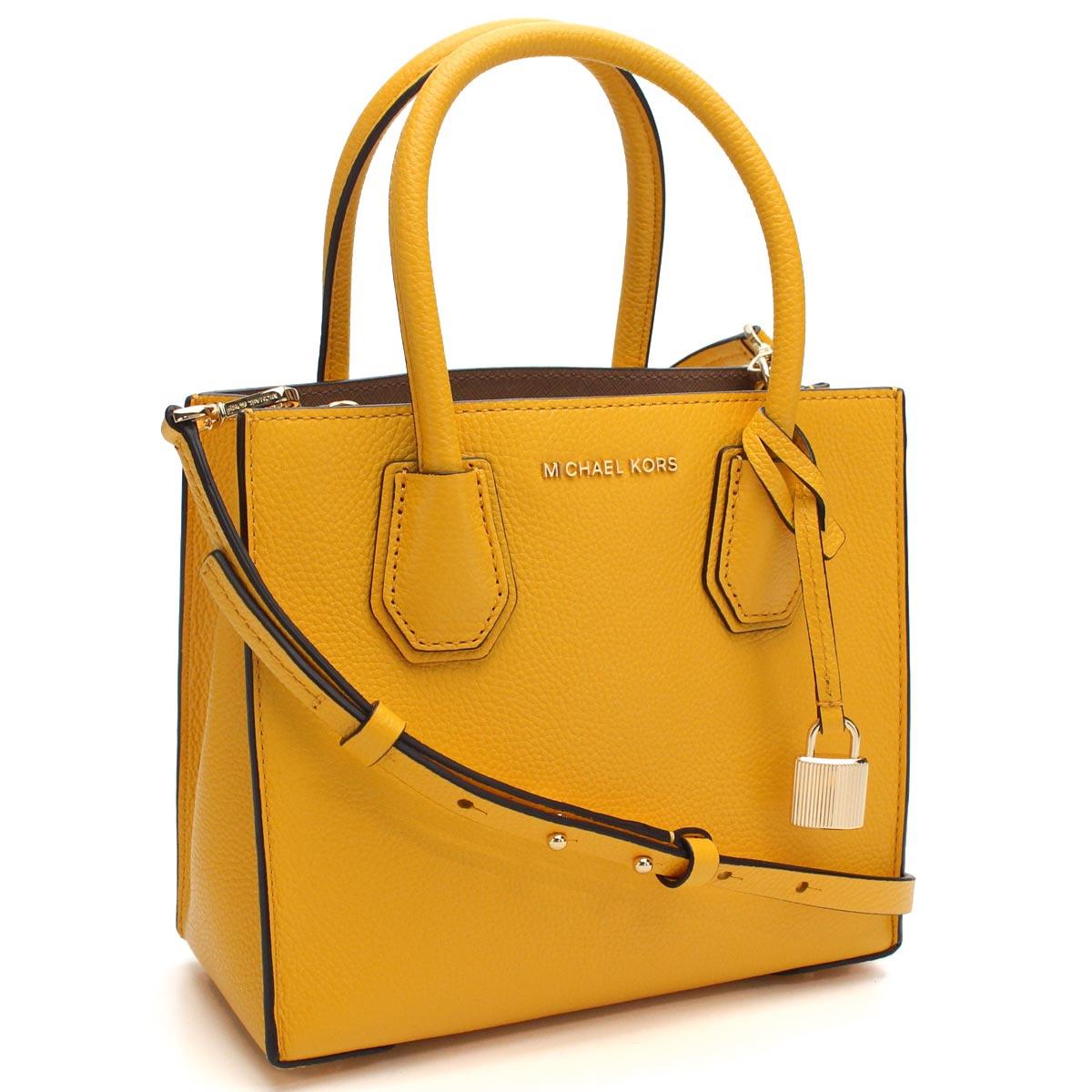 a0c02b4bfe67 Bighit The total brand wholesale: Michael Kors (MICHAEL KORS) MERCER Mercer  handbag 30F6GM9M2L SUNFLOWER yellow | Rakuten Global Market