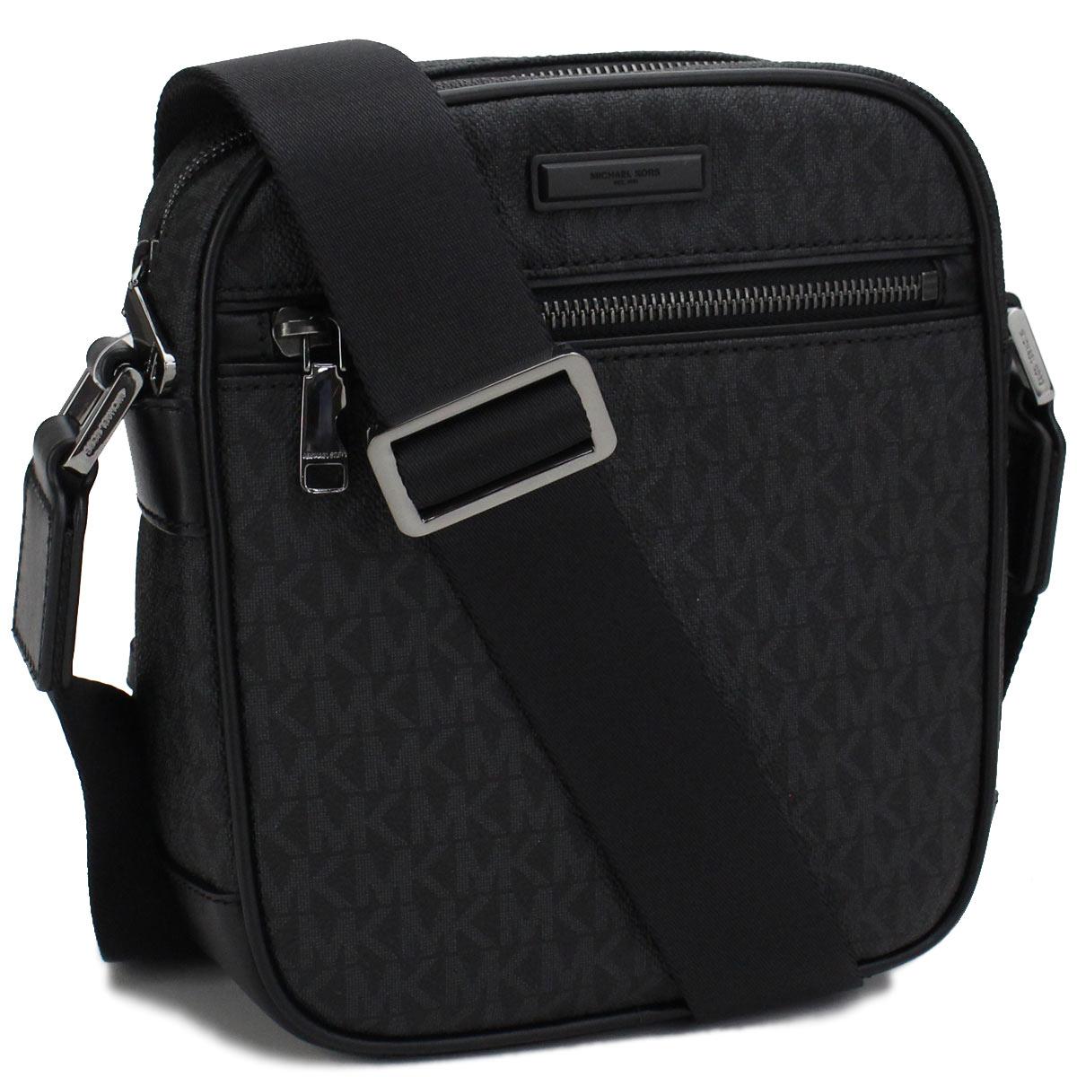 4b49e929dcf203 Bighit The total brand wholesale: Take Michael Kors (MICHAEL KORS) JET SET  MENS slant; shoulder bag 33F7MMNC5B BLACK black | Rakuten Global Market