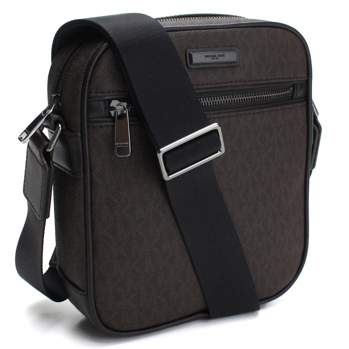 357cfe3cca26 Bighit The total brand wholesale  Take Michael Kors MICHAEL KORS JET SET  MENS slant  shoulder bag 33F7MMNC5B BROWN brown system
