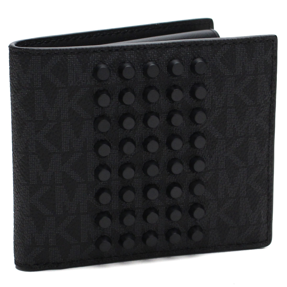 b5bc82740a72 Bighit The total brand wholesale  39F7MMNF3U BLACK black with the two fold wallet  coin purse with Michael Kors MICHAEL KORS wallet JET SET MENS studs ...