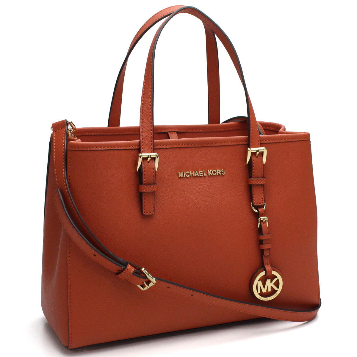 6375d91c7e66 Bighit The total brand wholesale  Michael Kors (MICHAEL KORS) JET SET  TRAVEL tote bag 30H3GTVT8L ORANGE orange system