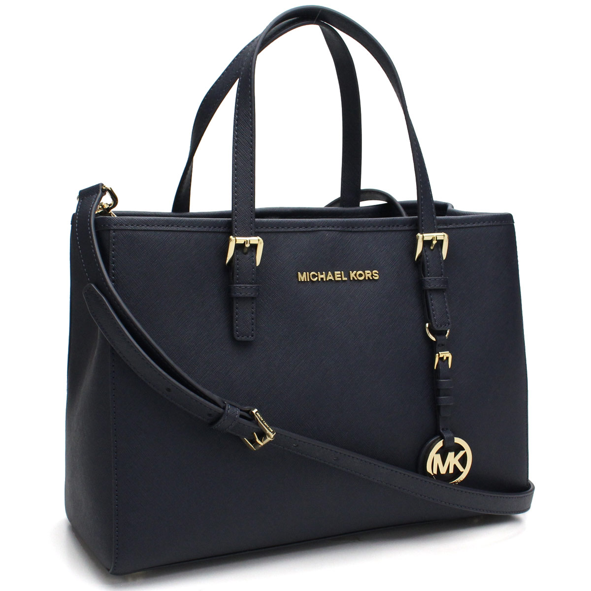 f27cf801a7061e Bighit The total brand wholesale: Michael Kors (MICHAEL KORS) JET SET  TRAVEL jet set travel tote bag 30H3GTVT8L ADMIRAL navy system | Rakuten  Global Market