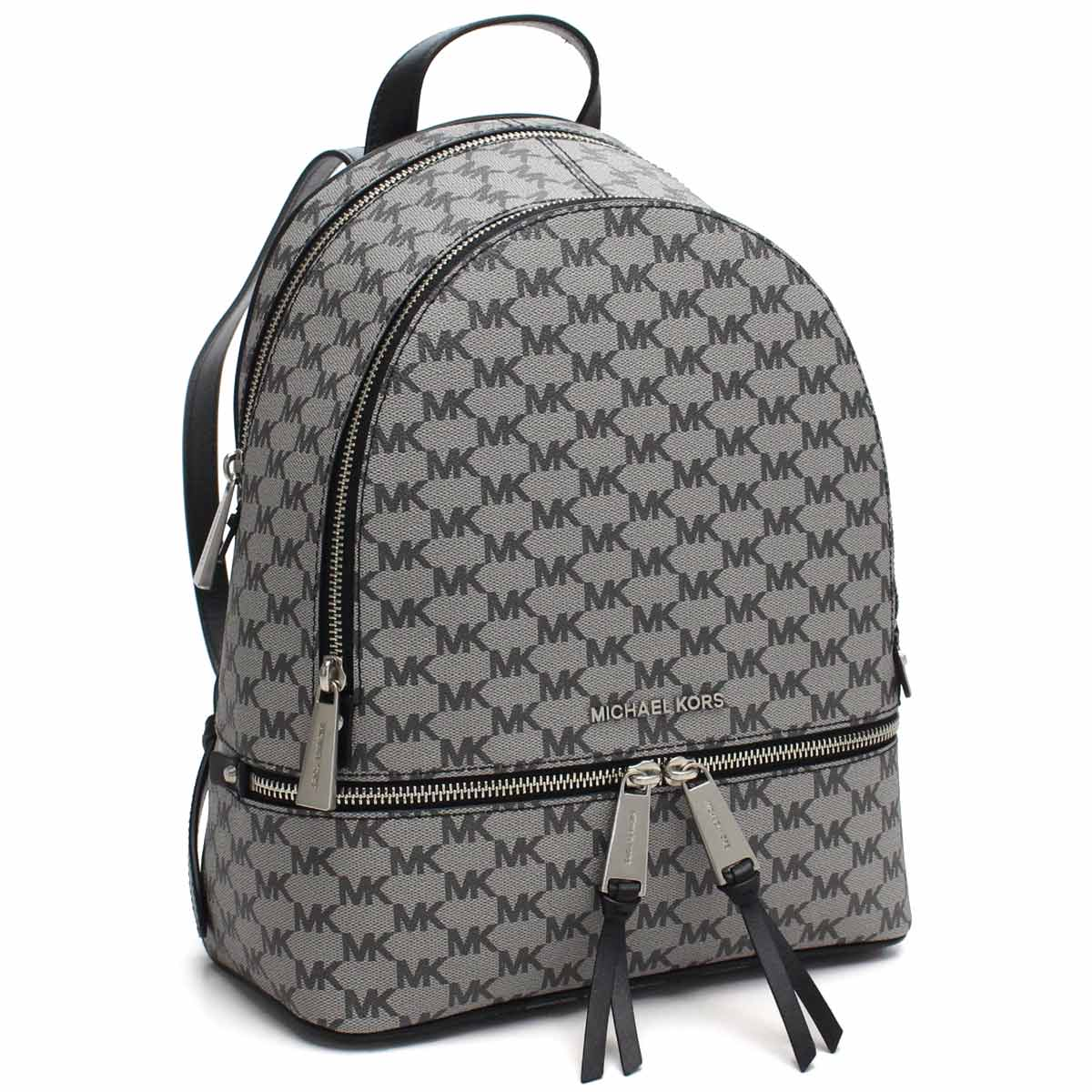31f945158463 Bighit The total brand wholesale: Michael Kors (MICHAEL KORS) RHEA ZIP  rucksack 30H6AEZB2V BLACK gray system | Rakuten Global Market