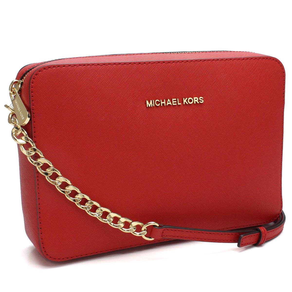 03ad574fcb66 Bighit The total brand wholesale: Take Michael Kors (MICHAEL KORS) JET SET  TRAVEL jet set travel slant; shoulder bag 32S4GTVC3L BRIGHT RED red system  ...
