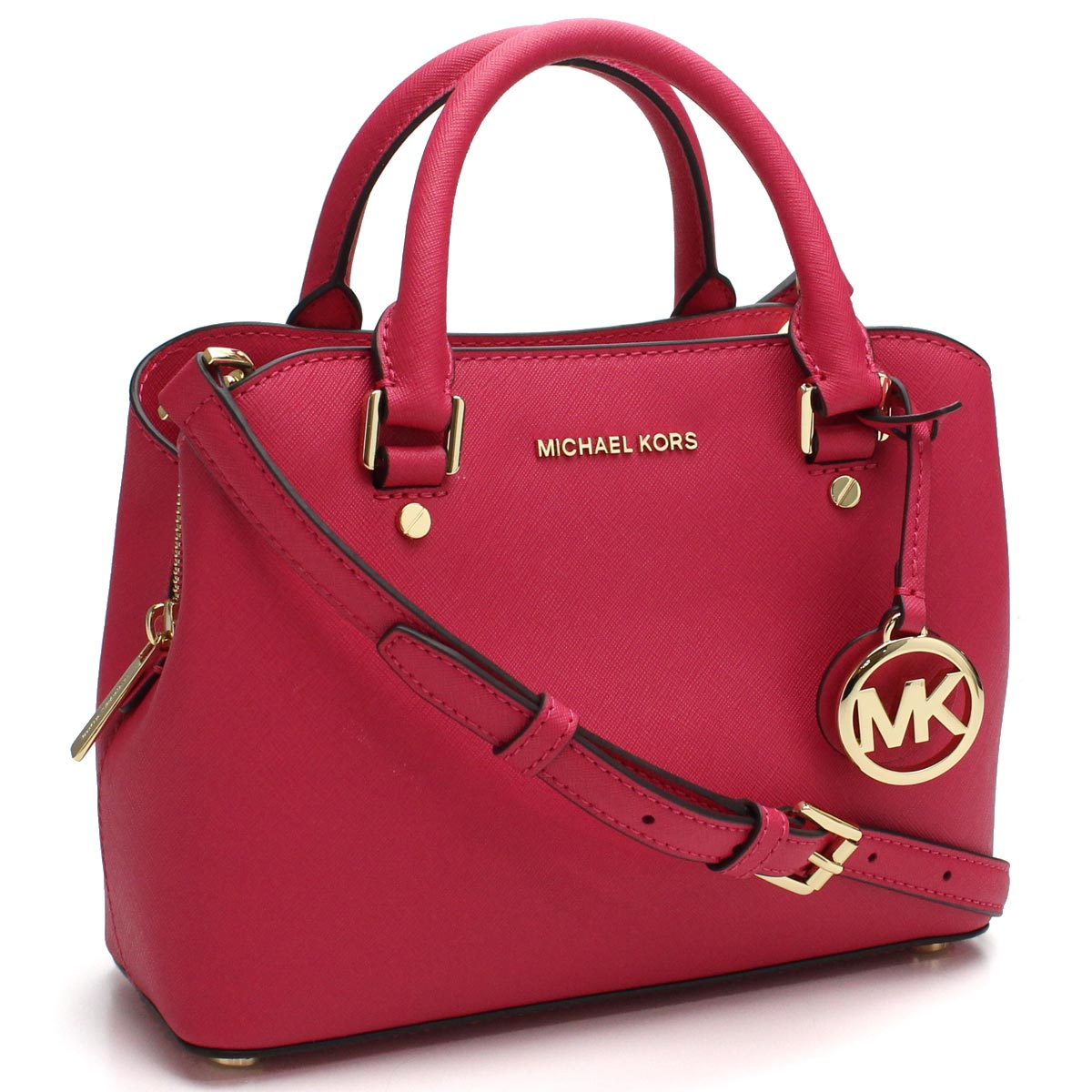 Hit The Total Brand Whole Michael Kors Bag Savannah Savanna 2way Handbag 30s6gs7s1l Ultra Pink System Rakuten Global Market