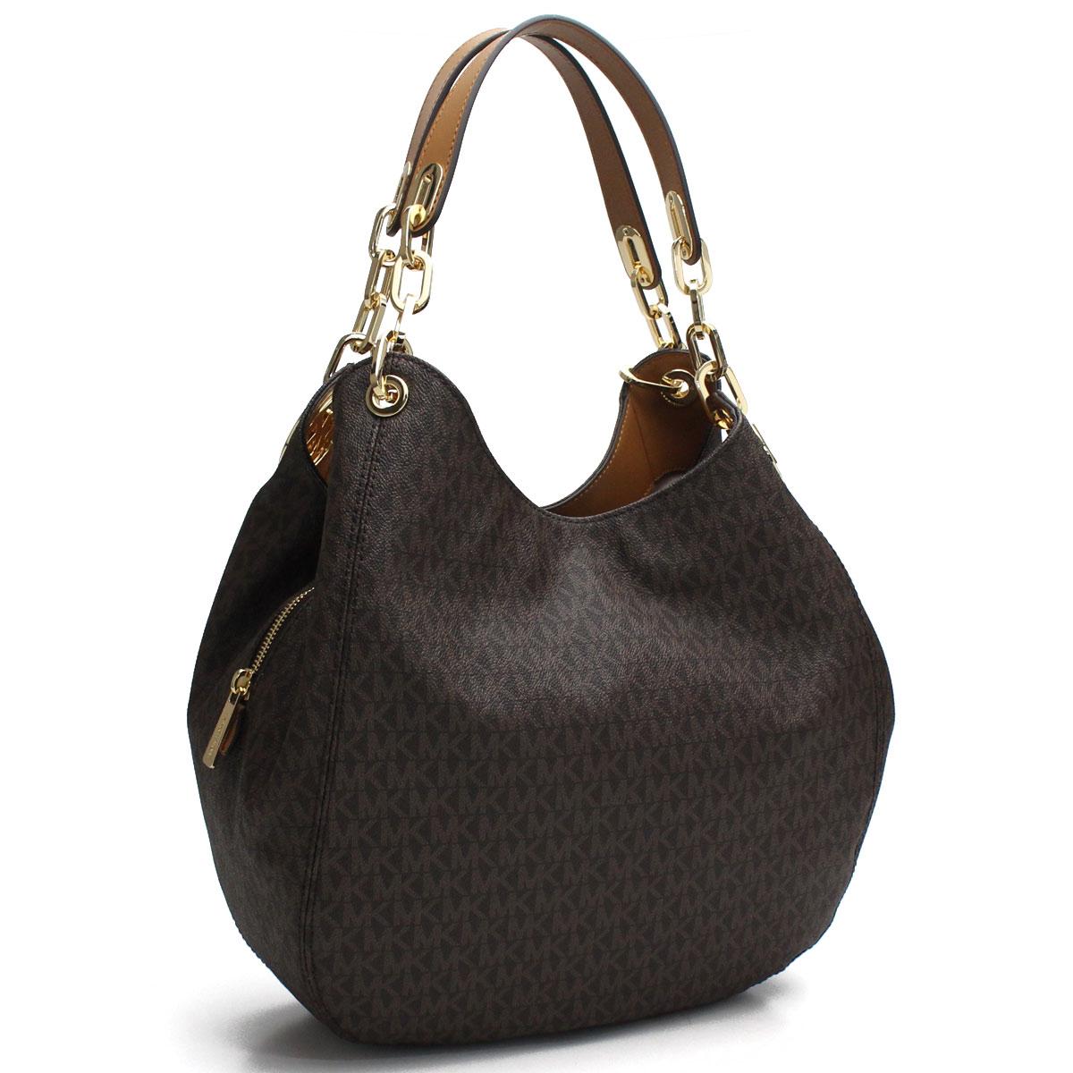 7578f7eb9e7056 Bighit The total brand wholesale: Michael Kors MICHAEL KORS FULTON Fulton  tote bag 30S7GFTL3B BROWN brown system | Rakuten Global Market