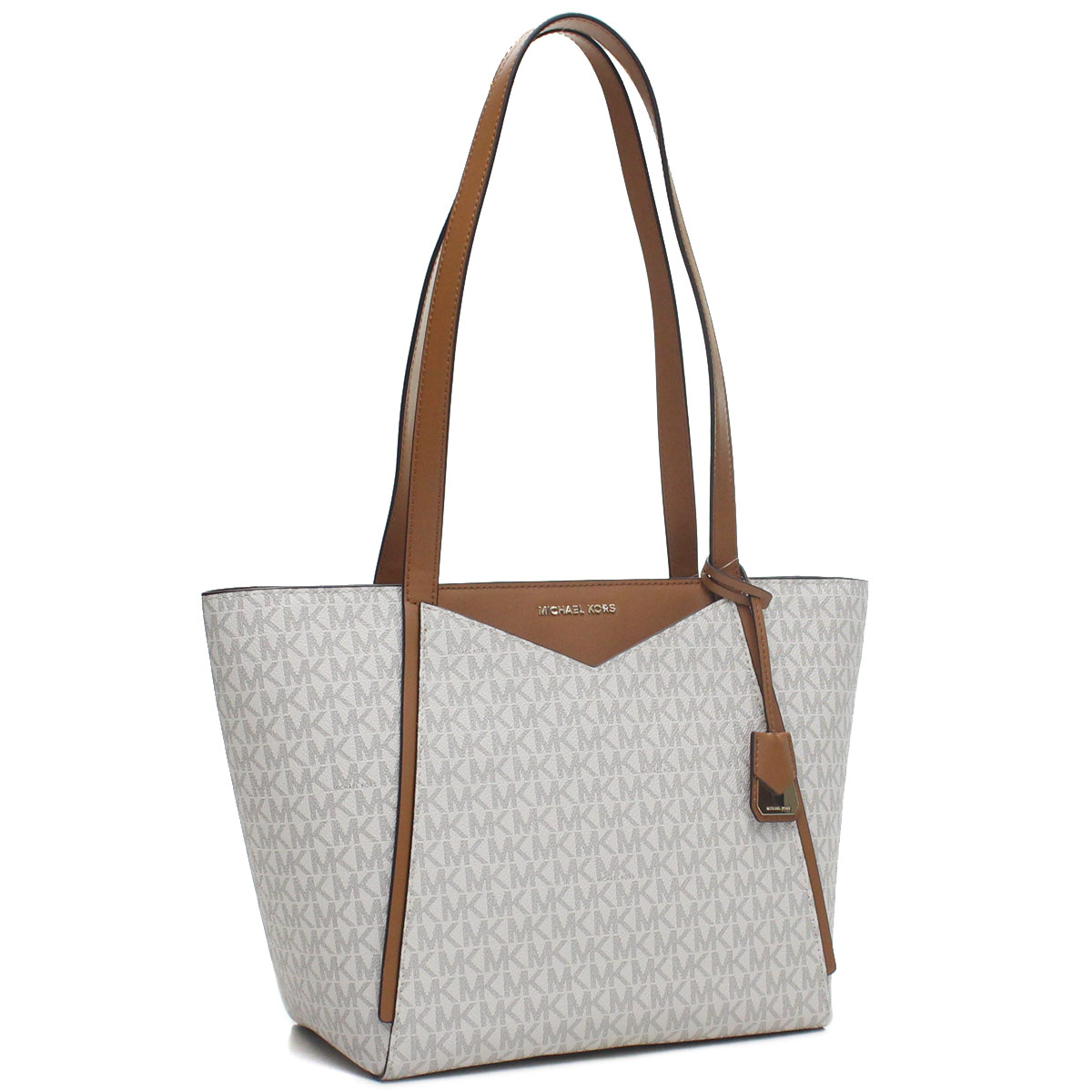 458fb9e3bd Bighit The total brand wholesale  Michael Kors MICHAEL KORS M TOTE GROUPE tote  bag 30S8GN1T1B VANILLA white system brown system