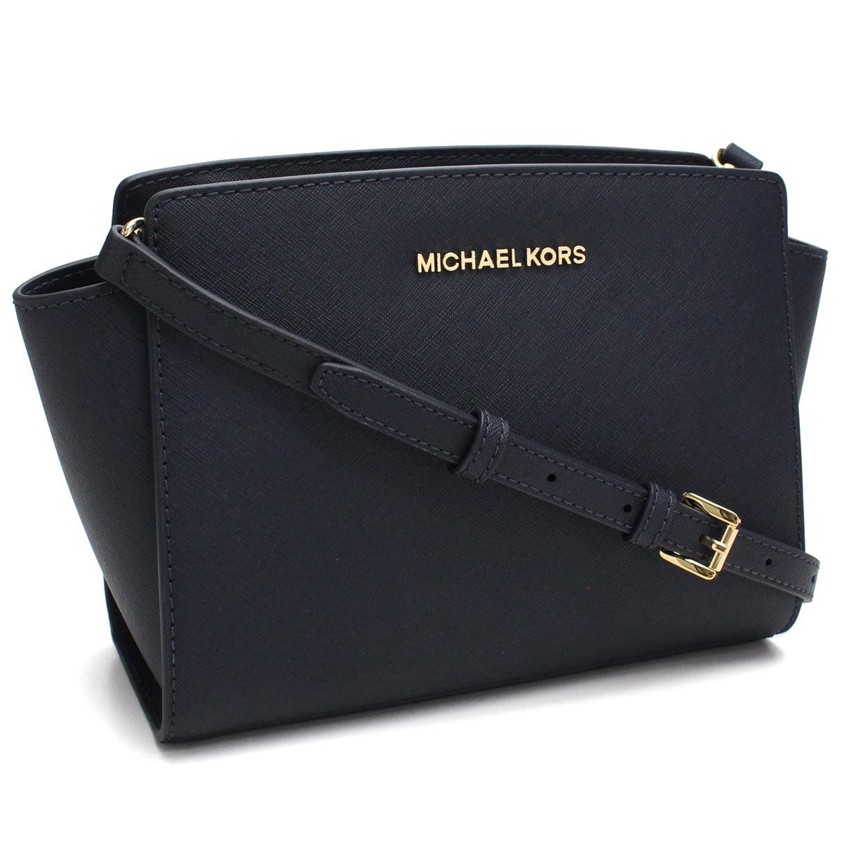 b98ab8137b9f Bighit The total brand wholesale  Take Michael Kors (MICHAEL KORS) SELMA  Selma slant  shoulder bag 30T3GLMM2L ADMIRAL navy system