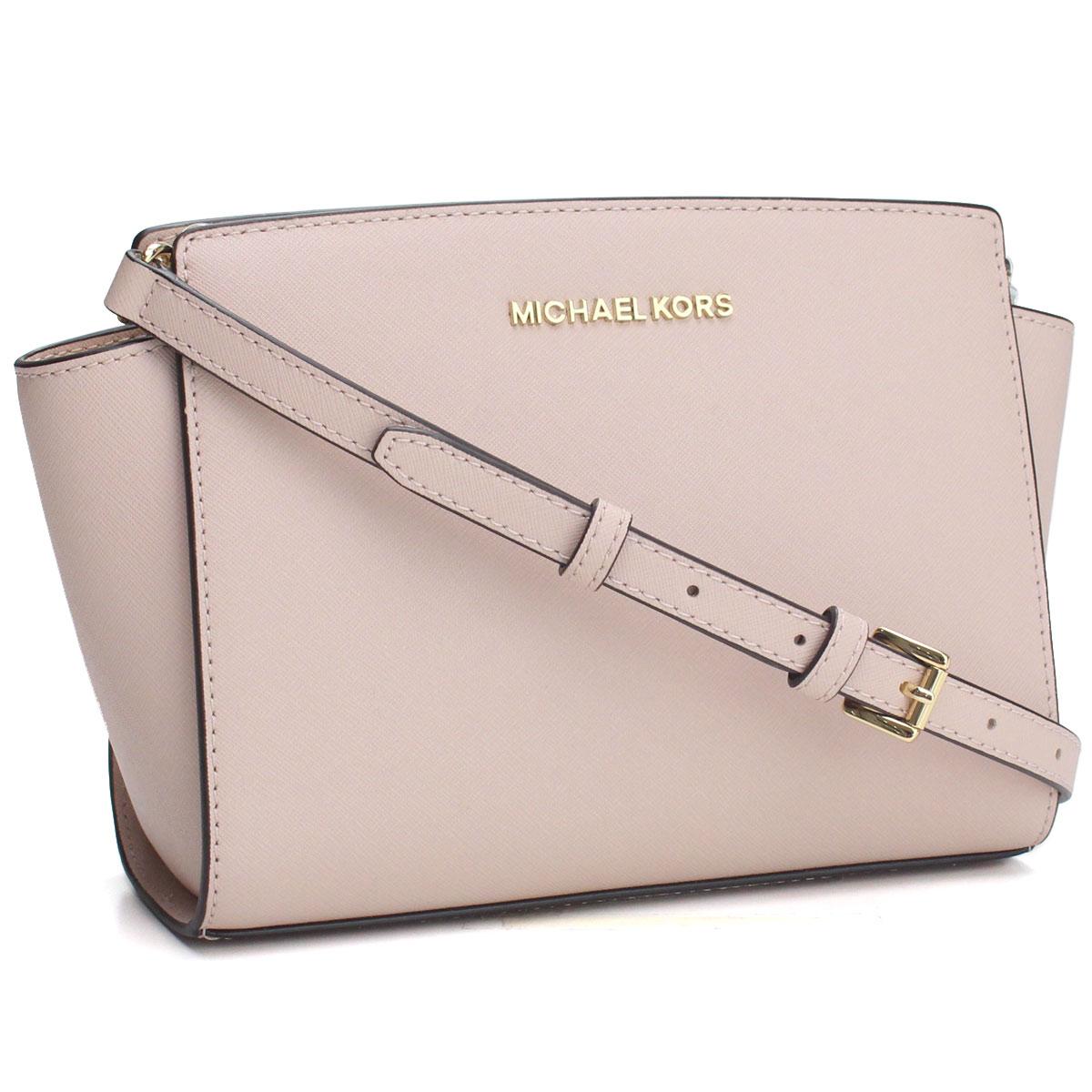 669a0d8ba024 Bighit The total brand wholesale  Take Michael Kors MICHAEL KORS SELMA  Selma slant  shoulder bag 30T3GLMM2L SOFT PINK pink system