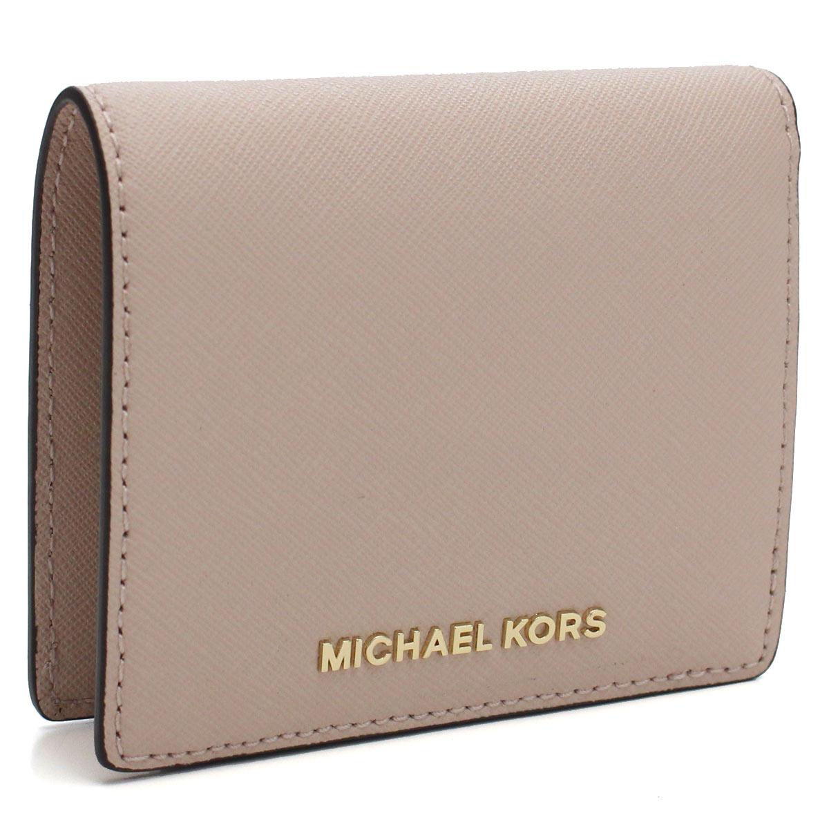 on sale bbbc3 b2f98 Michael Kors MICHAEL KORS MONEY PIECES card case 32T4GTVF2L SOFT PINK pink  system