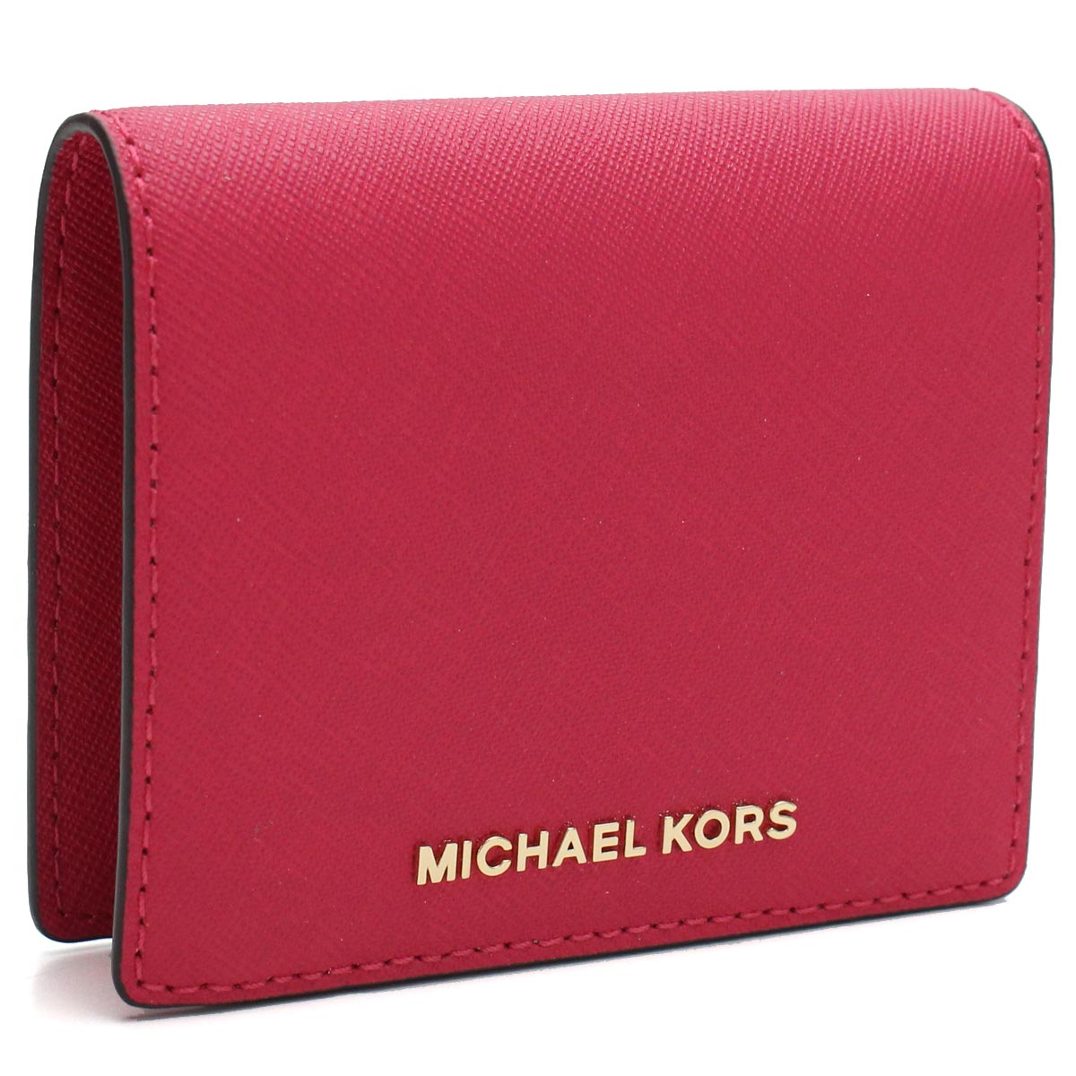 detailed look 3f2ea e786d Michael Kors MICHAEL KORS MONEY PIECES card case 32T4GTVF2L ULTRA PINK pink  system