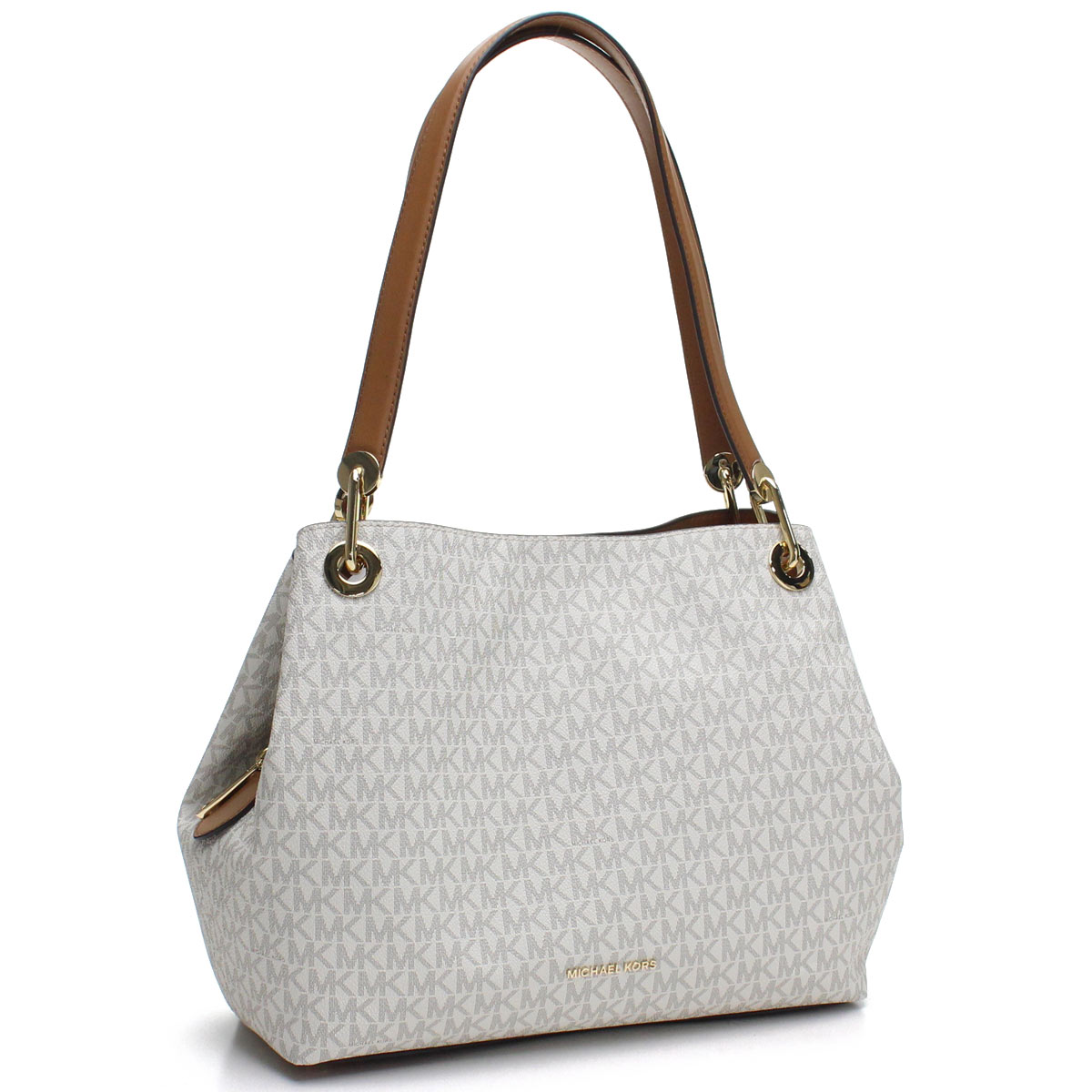1fd142963f35e Bighit The total brand wholesale  Michael Kors MICHAEL KORS RAVEN tote bag  30H6GRXE3V PVC 150 VANILLA white system