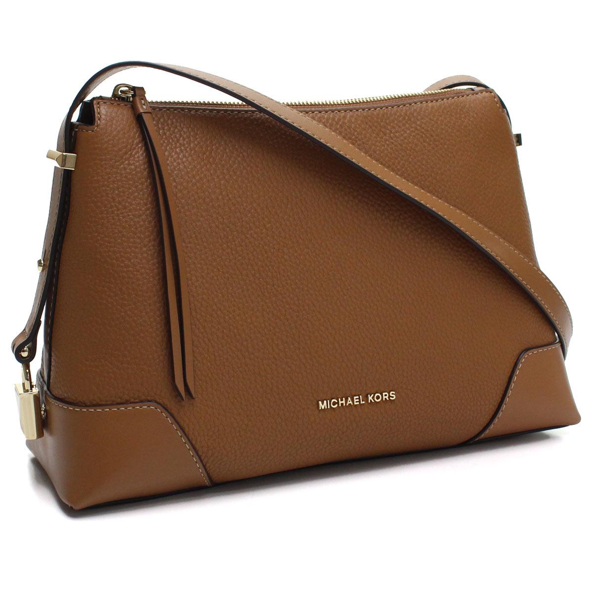 b3d0050b715c Bighit The total brand wholesale  Take Michael Kors MICHAEL KORS CROSBY  slant  shoulder bag 30H8GCBM2L 203 ACORN brown system