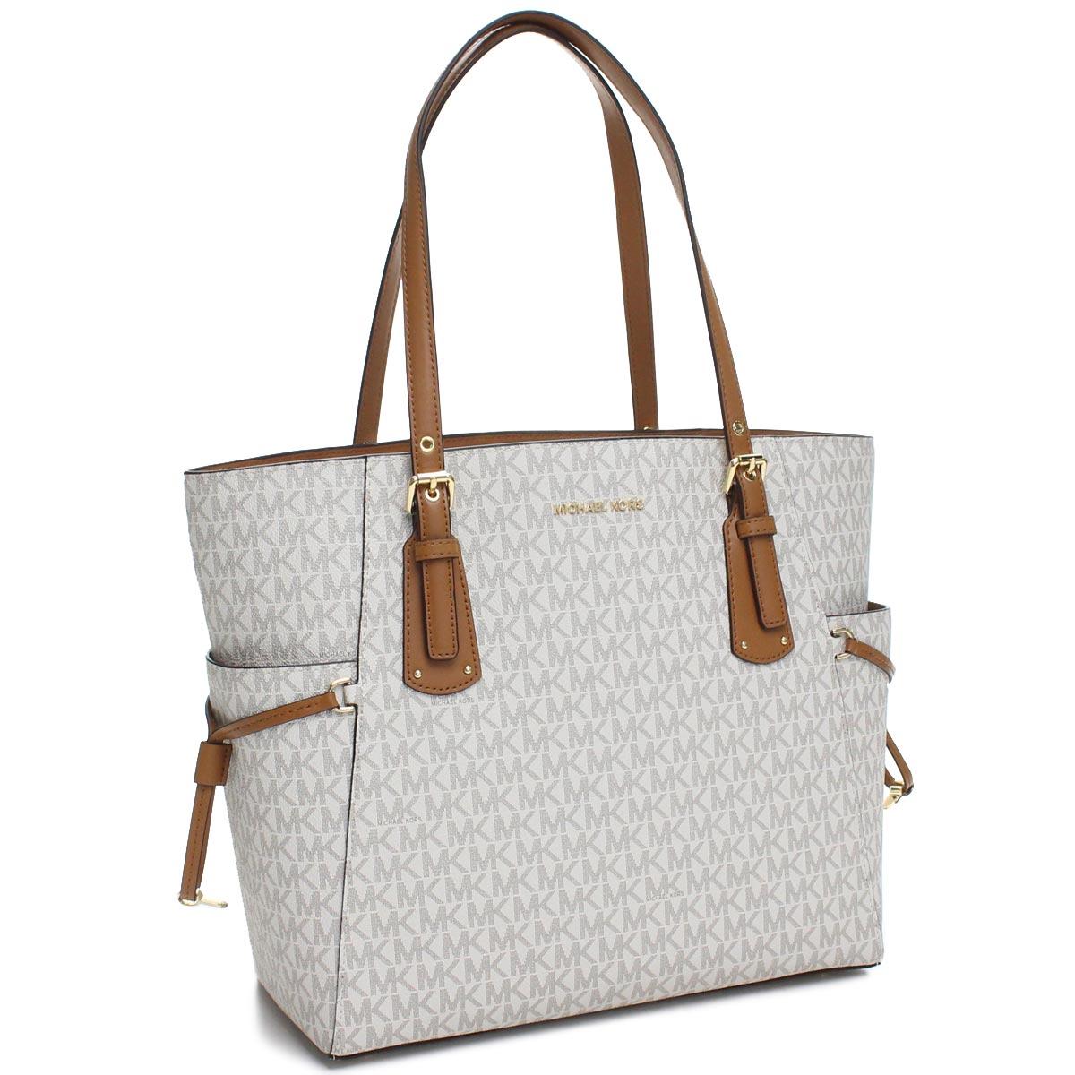c519e423e46b3b Bighit The total brand wholesale: Michael Kors MICHAEL KORS VOYAGER tote bag  30T8GV6T4B 150 VANILLA white system | Rakuten Global Market