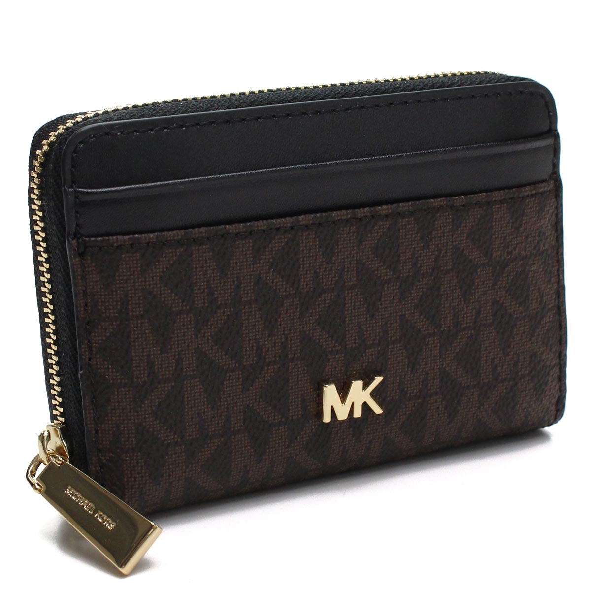 3daac7cd60c7 Bighit The total brand wholesale: Black of Michael Kors MICHAEL KORS MONEY  PIECES coin purse 32F8GF6Z1B 292 BROWN/BLK Brown line   Rakuten Global  Market