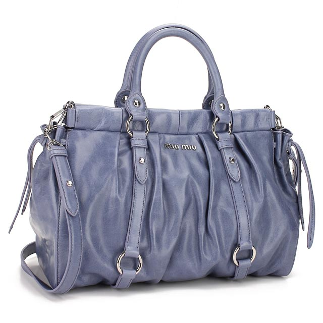 2d61701e1540 )(MIUMIU) Miu Miu handbags RT0383-X72-F0014 LILLA Purple system(  taxfree send by EMS authentic A brand new item )