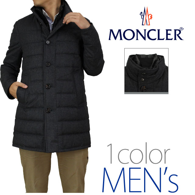 Mens down coat MONCLER (MONCLER) VALLIER 3190200-54272-950 gray system( taxfree/send by EMS/authentic/A brand new item )