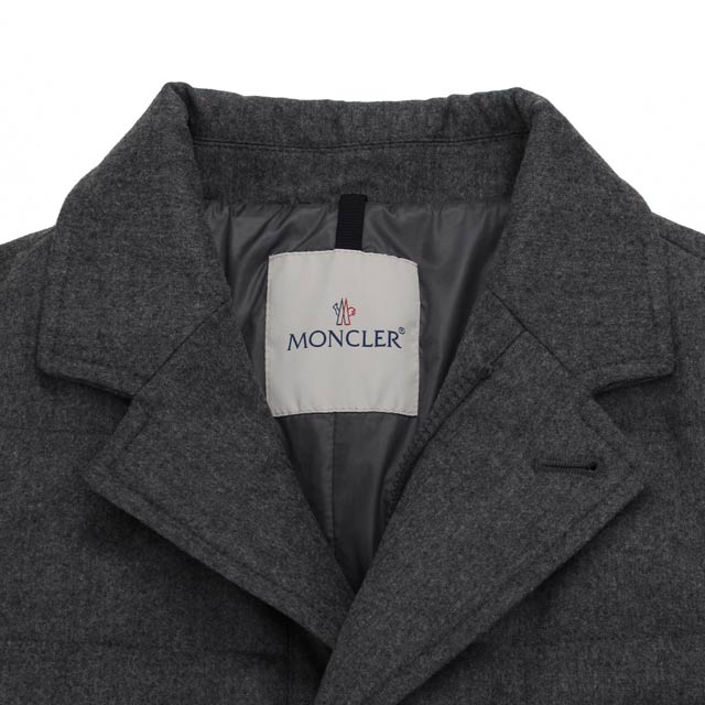 Monk rail MONCLER men jacket RODIN 4133400 54272 940 gray system men