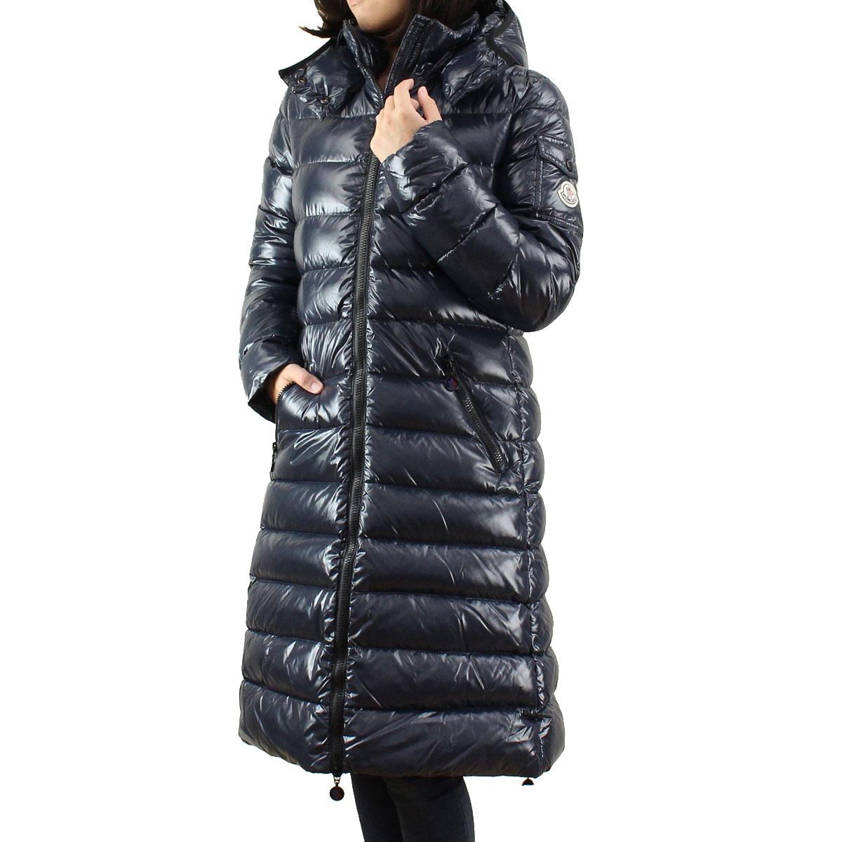 MONCLER (MONCLER) [MOKA] women's down coat MOKA 4931105 15 - 68950 - 742 blue( taxfree/send by EMS/authentic/A brand new item )