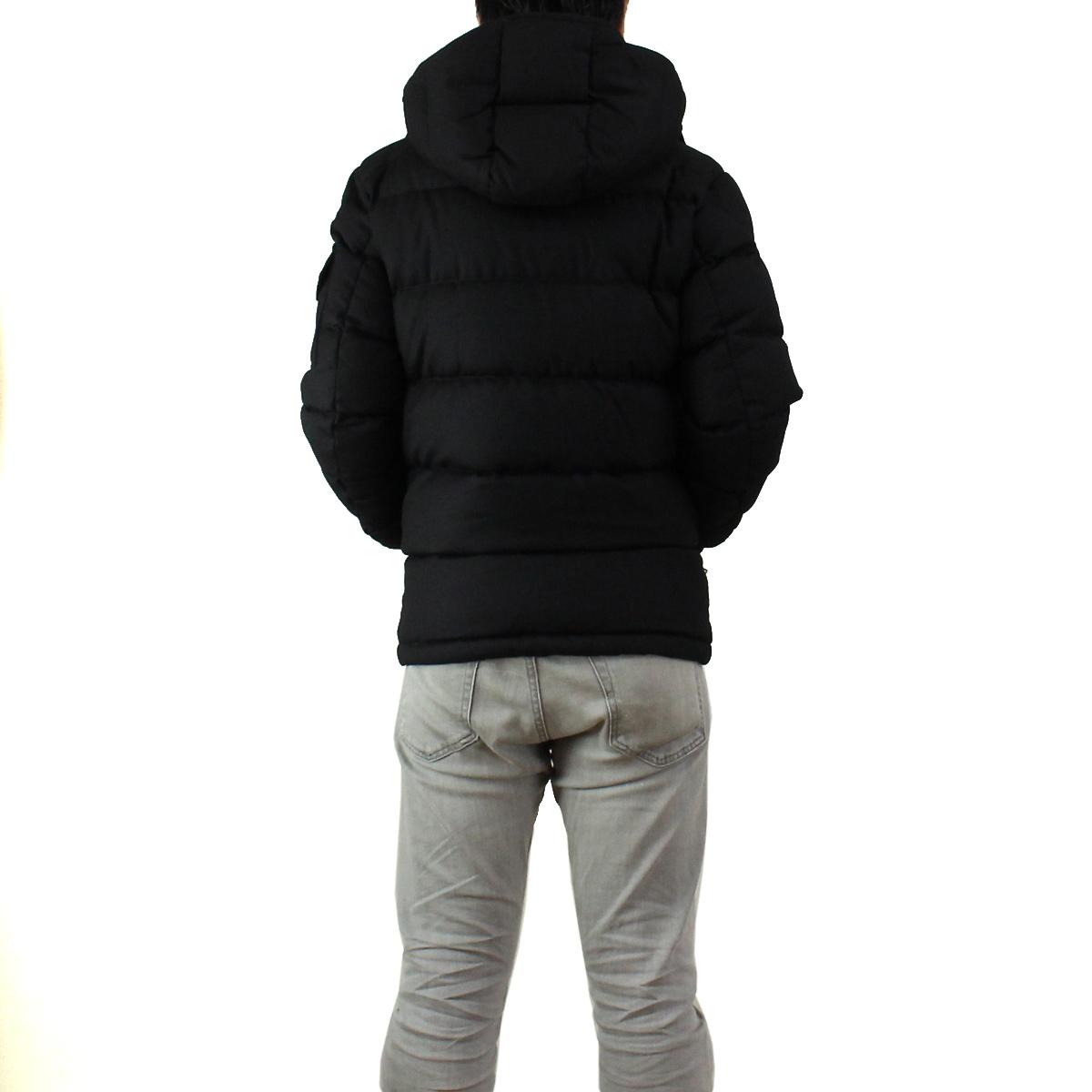 MONCLER (MONCLER) MONTGENEVRE mens down jacket MONTGENEVRE 4033805 15 - 54272 - 999 black( taxfree/send by EMS/authentic/A brand new item )