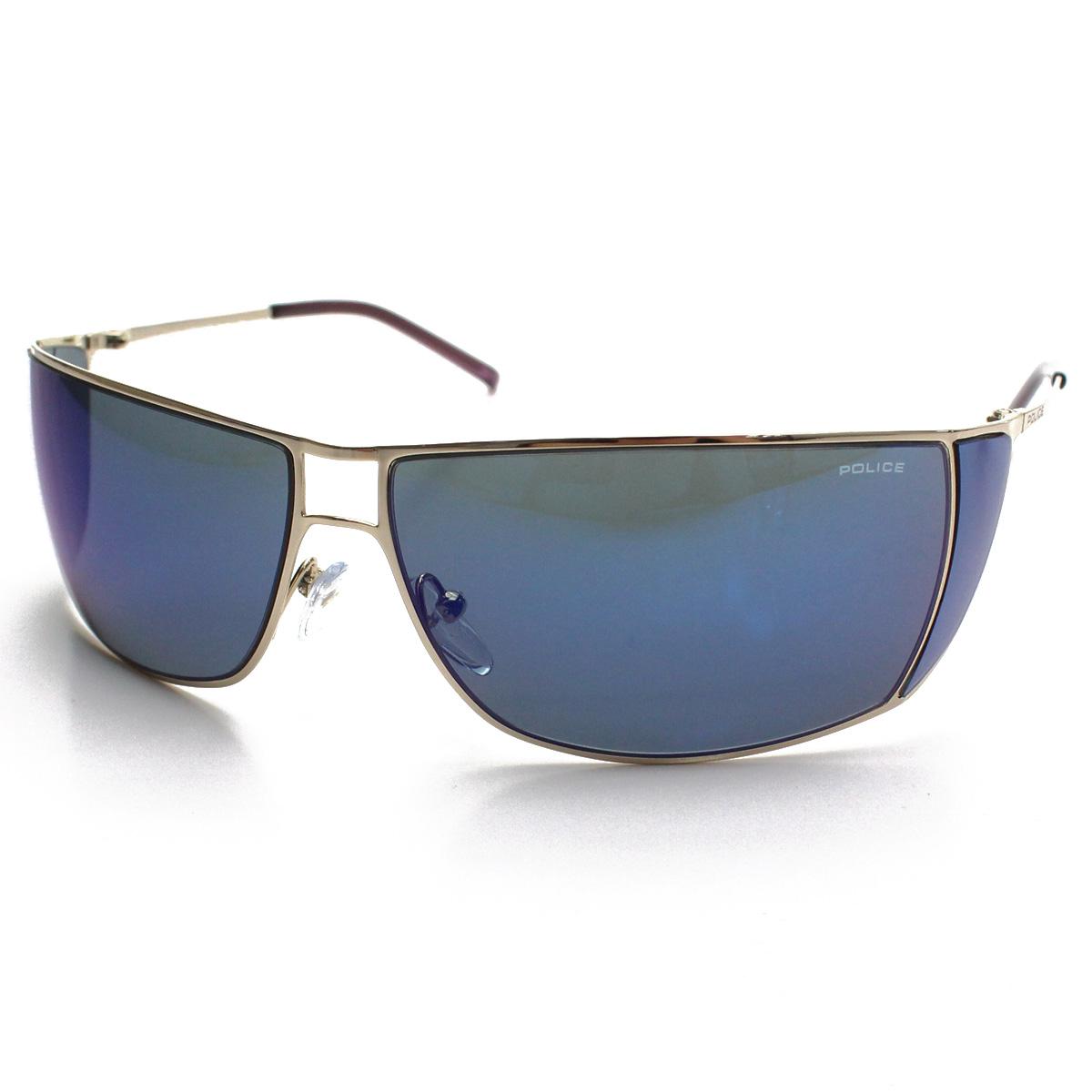 ポリス POLICE サングラス S2819K 300B ブルー系 メンズ