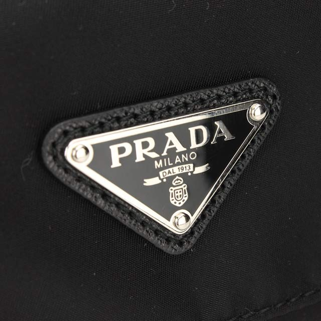 ( tax free ! )Prada outlet PRADA (OUTLET) diagonally over the shoulder bag BT0953-O-ZOT-F0002 NERO black( taxfree/send by EMS/authentic/A brand new item )