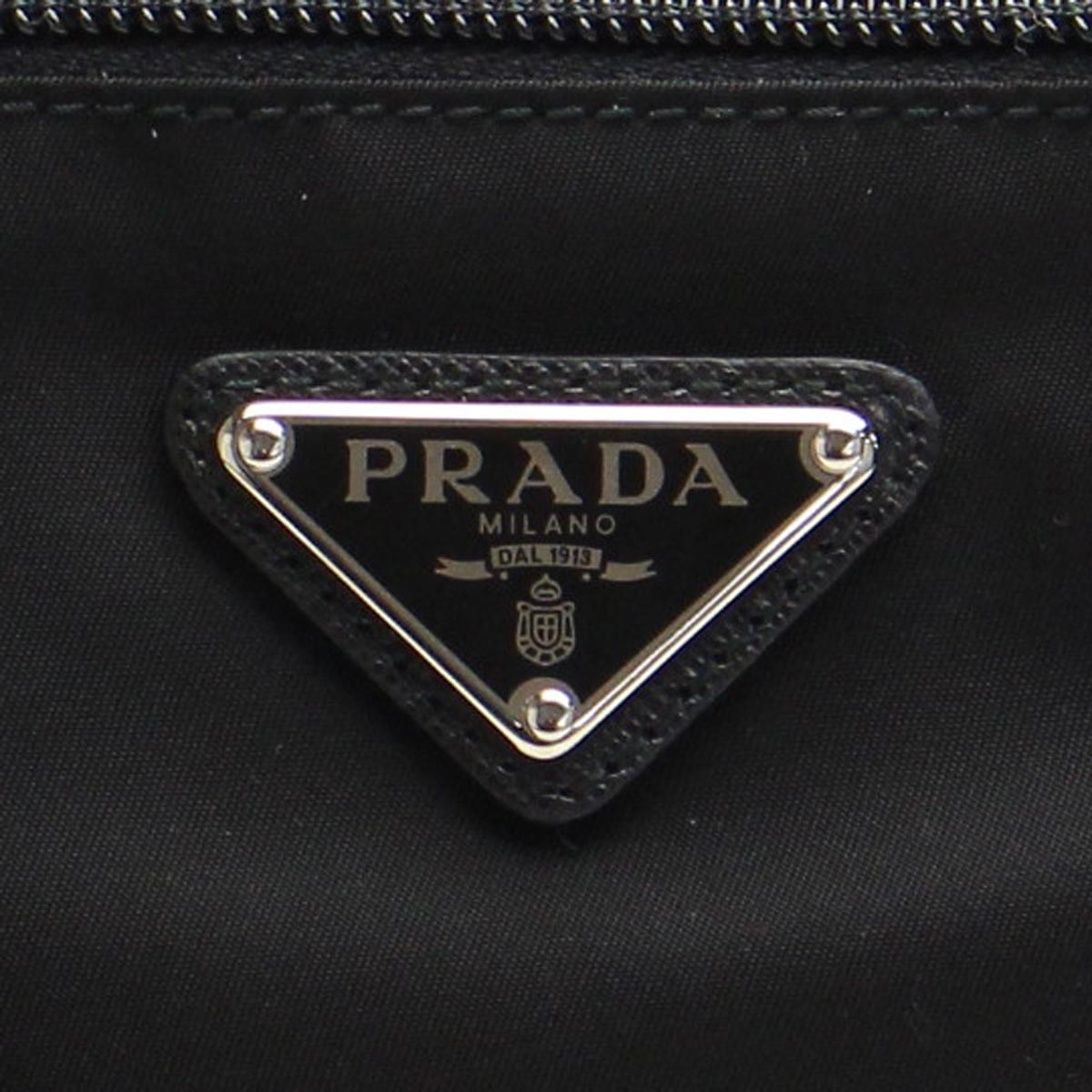 Prada (PRADA) diagonal shoulder 1BC421-V44-F0002 NERO black( taxfree/send by EMS/authentic/A brand new item )