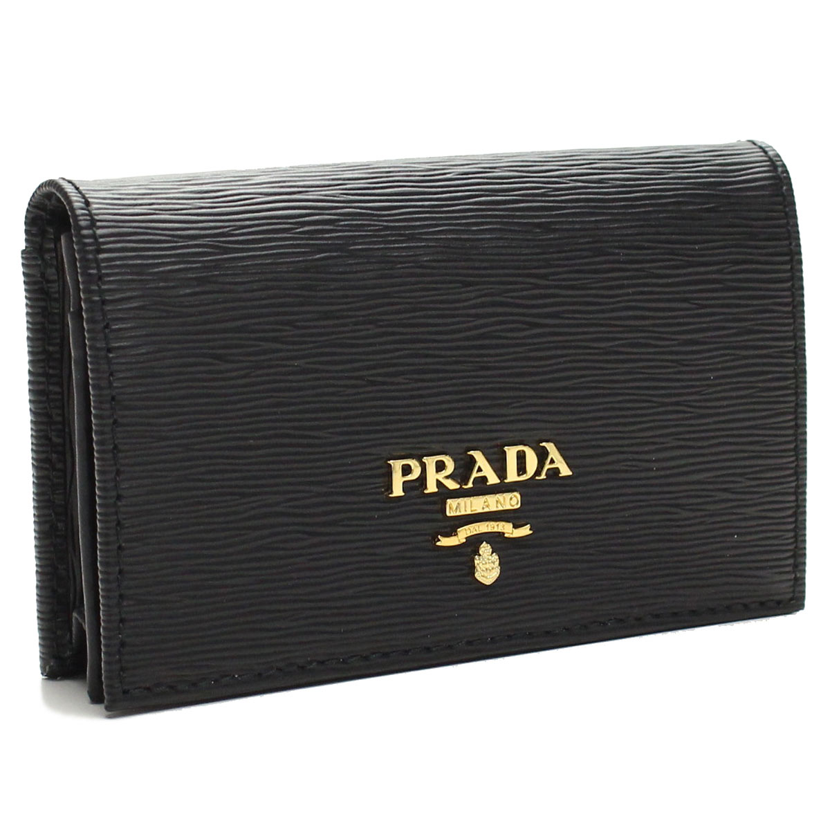 finest selection 60709 cb391 Prada outlet PRADA (OUTLET) business card holder 1MC122-O-2EZZ-F0002 NERO  black( taxfree/send by EMS/authentic/A brand new item )