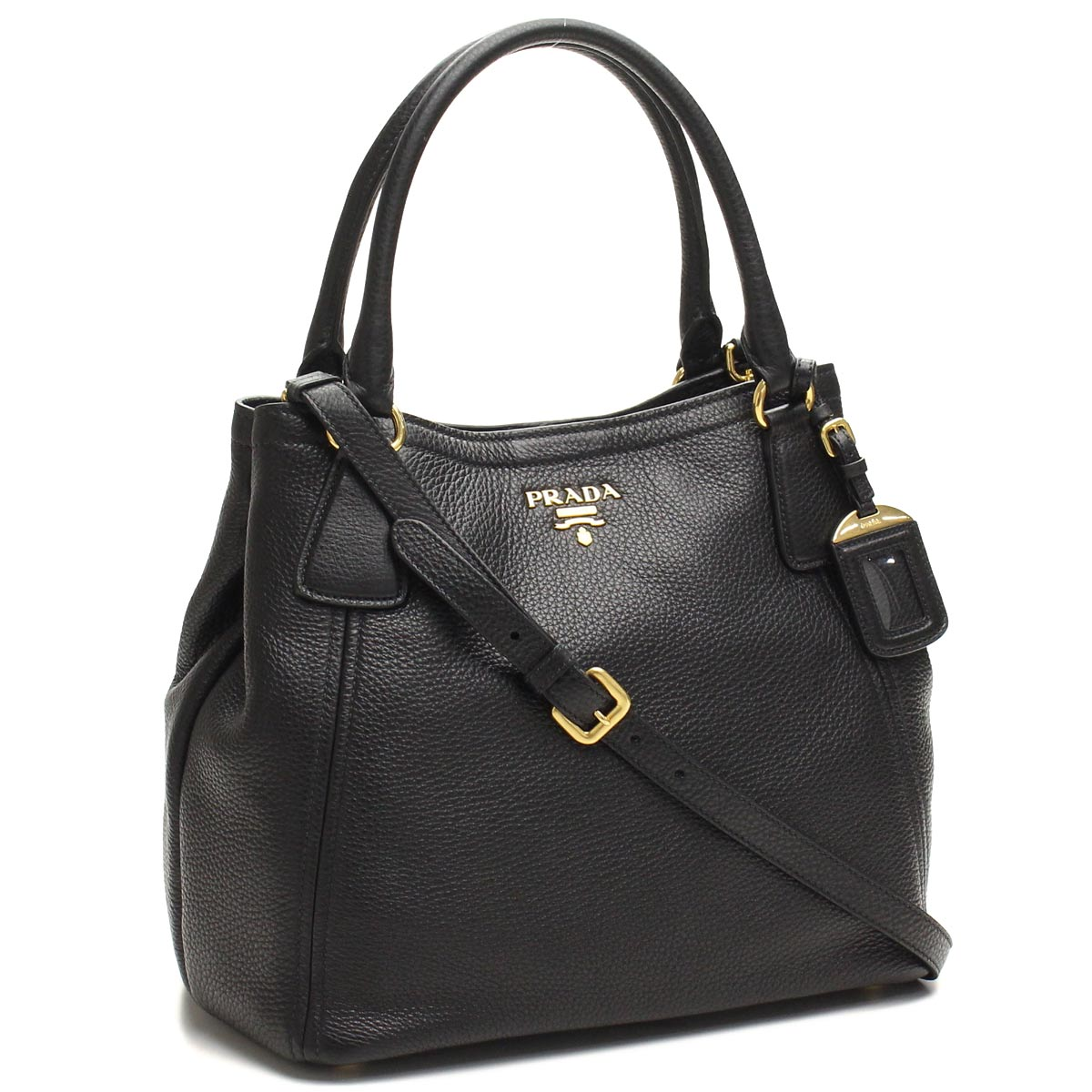 Bighit The total brand wholesale  Prada outlet PRADA (OUTLET) tote bag  BN2534-O-UWL-F0002 NERO black( taxfree send by EMS authentic A brand new  item ) ... 3a3ab007a2c6c