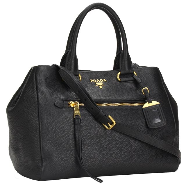 Prada Outlet Tote Bag Bn2793 O Uwl F0002 Nero Black Taxfree Send By Ems Authentic A Brand New Item