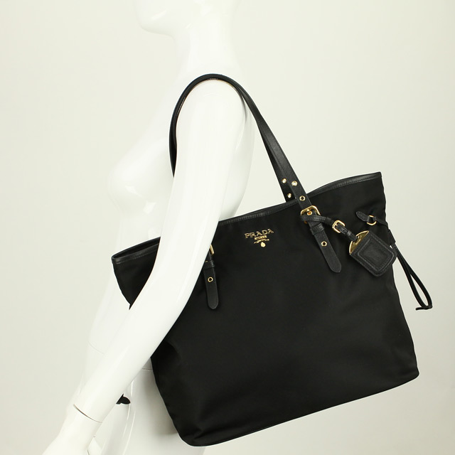 f61ac85a6462 Prada outlet PRADA (OUTLET) shoulder bag BR4997-O-ZMY-F0002 NERO black  series( taxfree send by EMS authentic A brand new item )