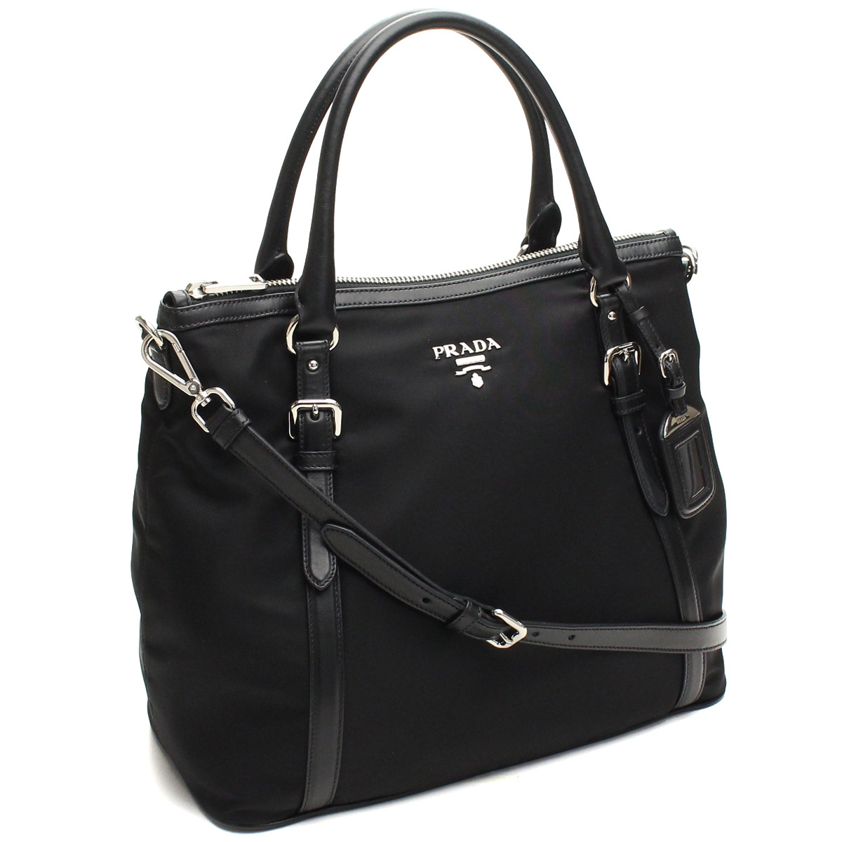 e9986436edb435 )Prada outlet PRADA (OUTLET) tote bag BR5116-O-QXO-F0002 NERO black(  taxfree/send by EMS/authentic/A brand new item ) | Rakuten Global Market