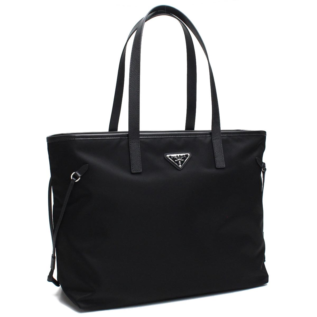 384e03acf0 Prada PRADA bag nylon tote bag 1BG401 V44 V OOM F0002 NERO black