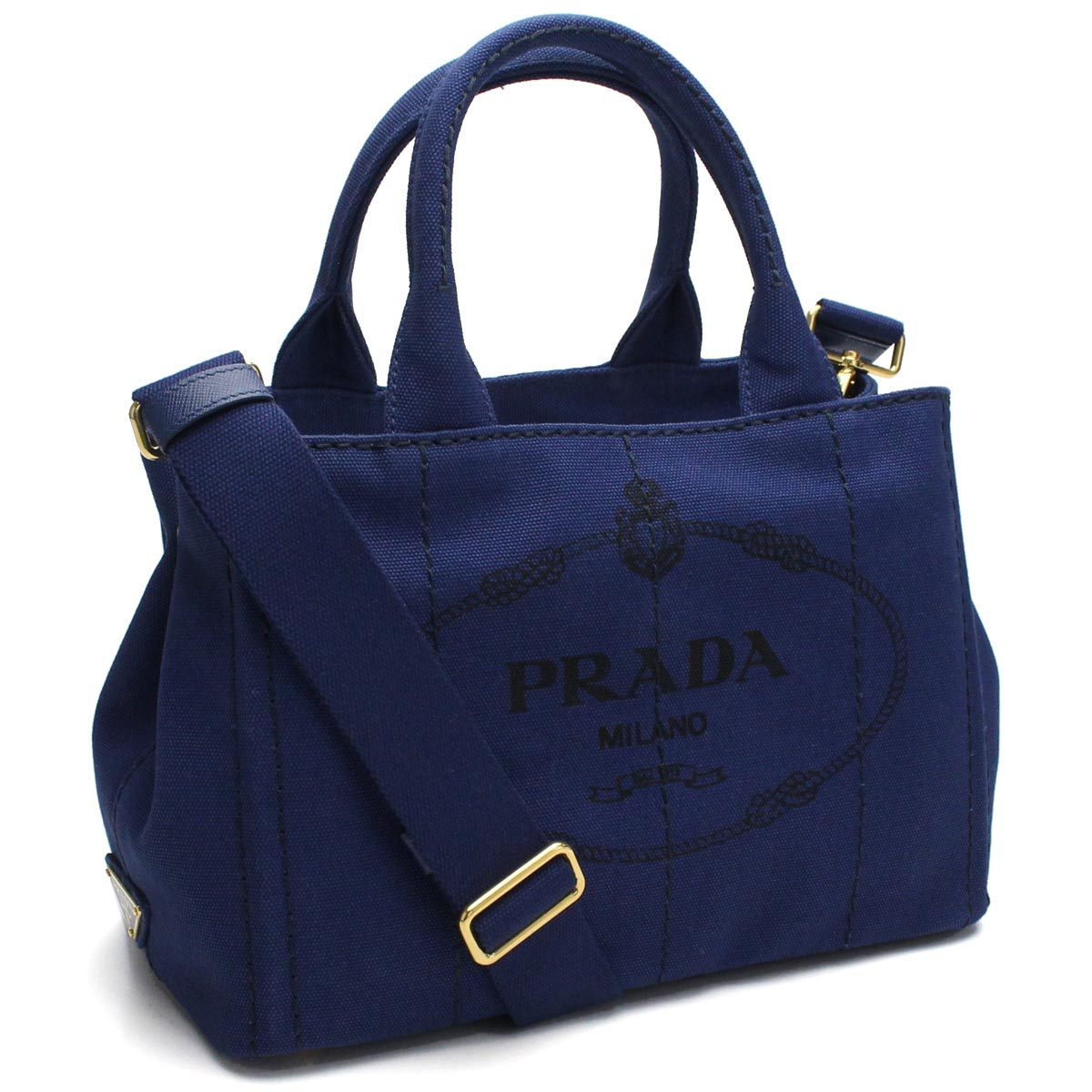 bfa3c55690 Bighit The total brand wholesale: 普拉達(PRADA)大手提包1BG439 ZKI F0016 BLUETTE藍色派的|  日本樂天市場