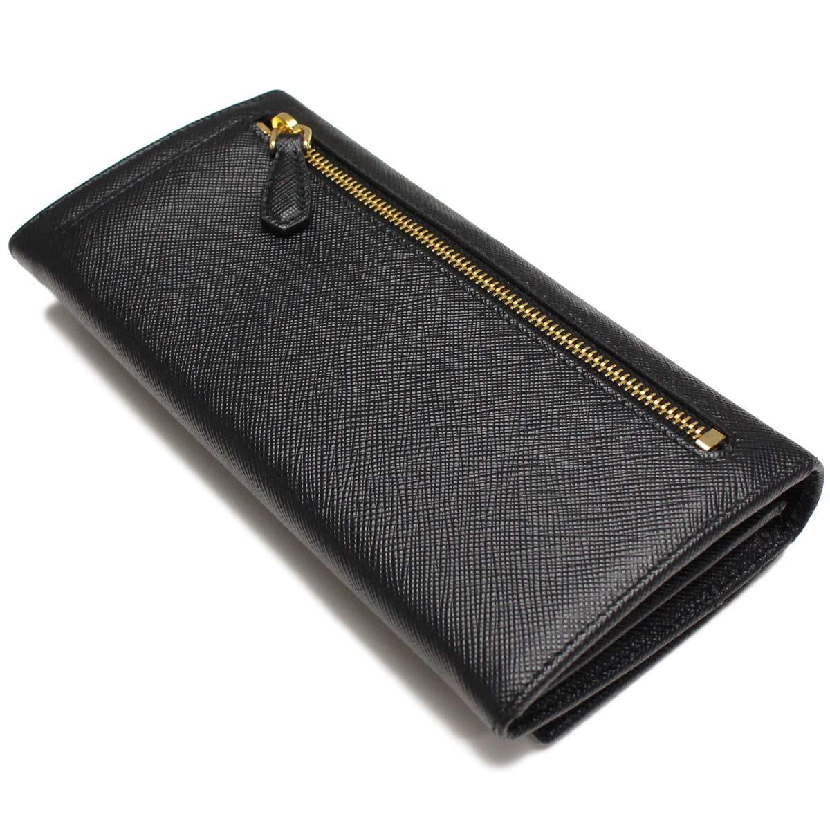 프라다 (PRADA) 지갑 2 접 동전 지갑 딸린 1MH132-QHH-F0002 NERO 블랙