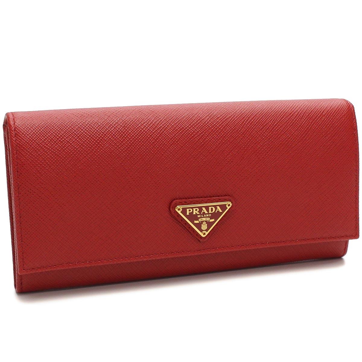 7223cfc8f979a Bighit The total brand wholesale  BI-fold wallet Prada (PRADA) rubx QHH-F068Z  FUOCO red series( taxfree send by EMS authentic A brand new item )