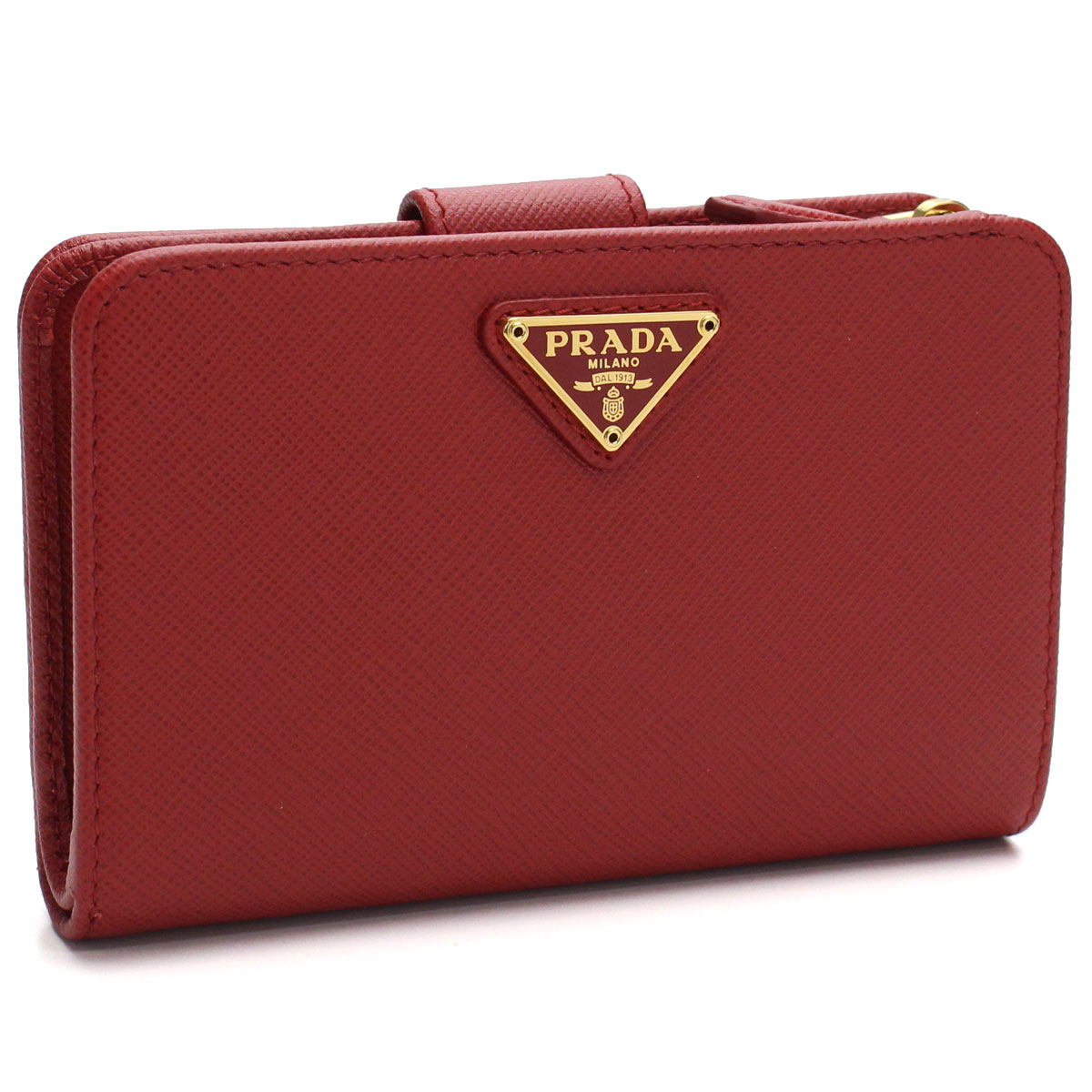 68e1f4edf8a20 Bighit The total brand wholesale  Prada PRADA wallet folio compact wallet  1ML225 QHH F068Z FUOCO red system