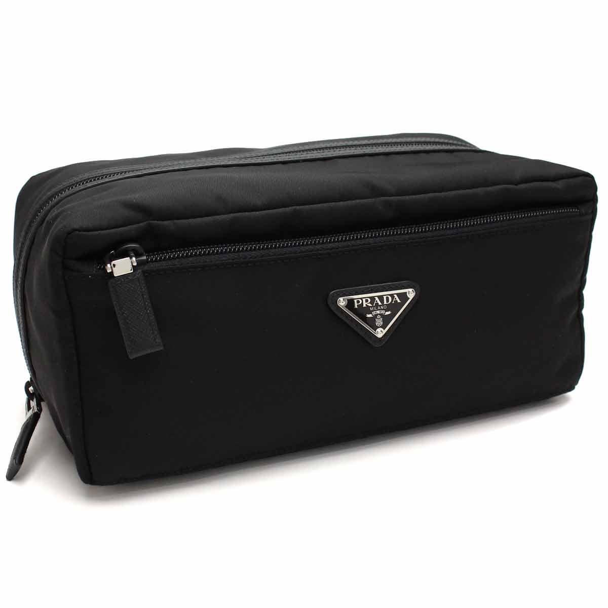 b17a86a6ef Bighit The total brand wholesale  Prada (PRADA) nylon Cosme pouch makeup bag  2NA029 064 F 0002 NERO black