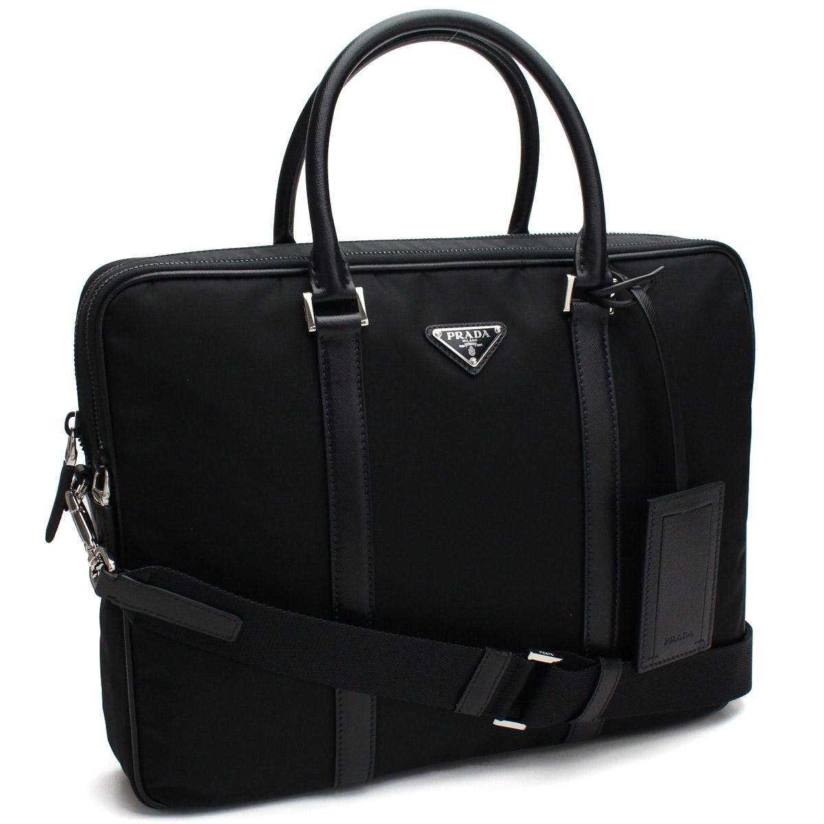 1deeba9e4d3af6 Bighit The total brand wholesale: Prada (PRADA) nylon briefcase business  bag 2VE002 064 VOOO F0002 NERO black   Rakuten Global Market