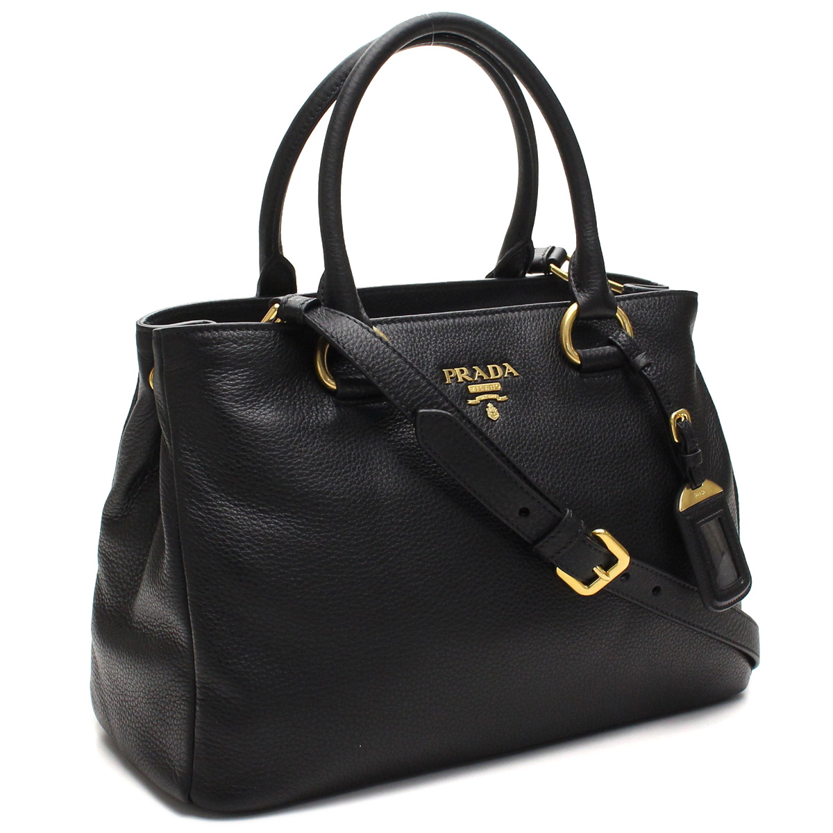 Bighit The total brand wholesale  Prada outlet PRADA (OUTLET) tote bag  1BA878-O-UWL-F0002 NERO black( taxfree send by EMS authentic A brand new  item ) ... 461ec739b4dd